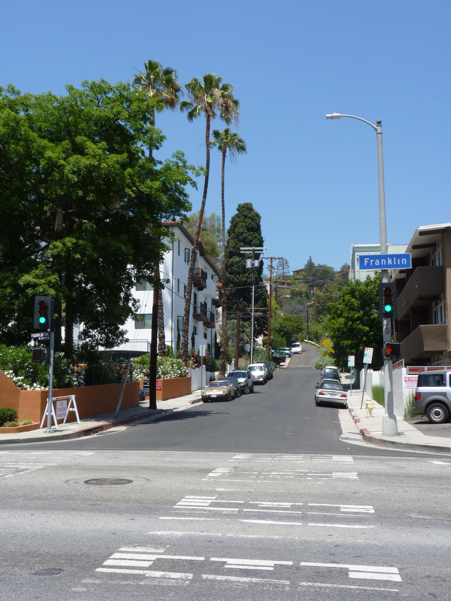 A deux pas d'Hollywood Boulevard