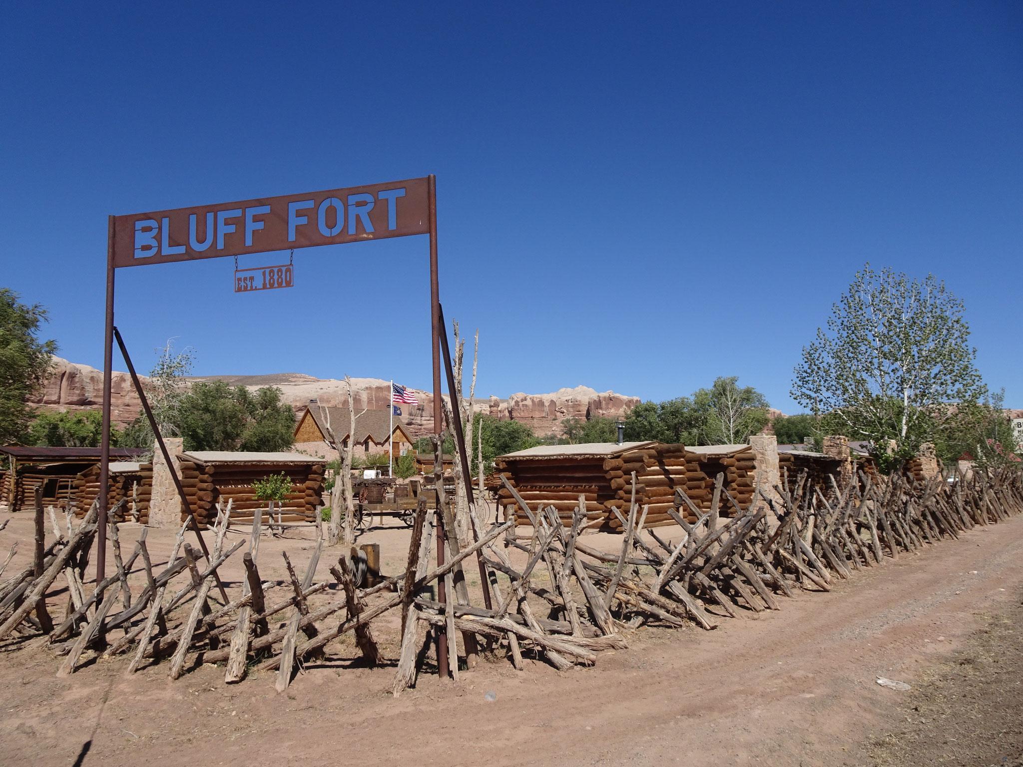 Bluff Fort(Utah)