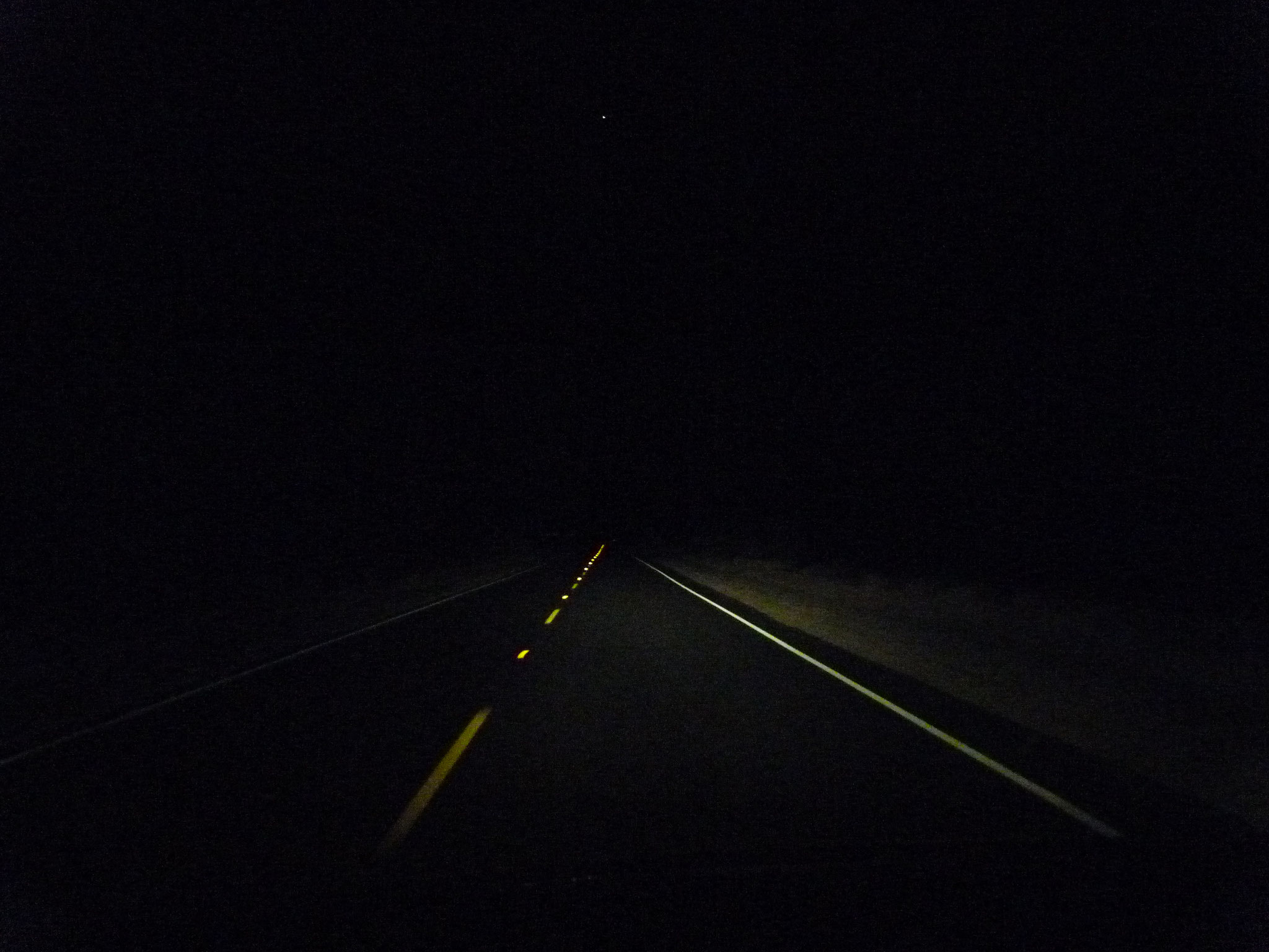 En route vers Palm Springs à la David Lynch