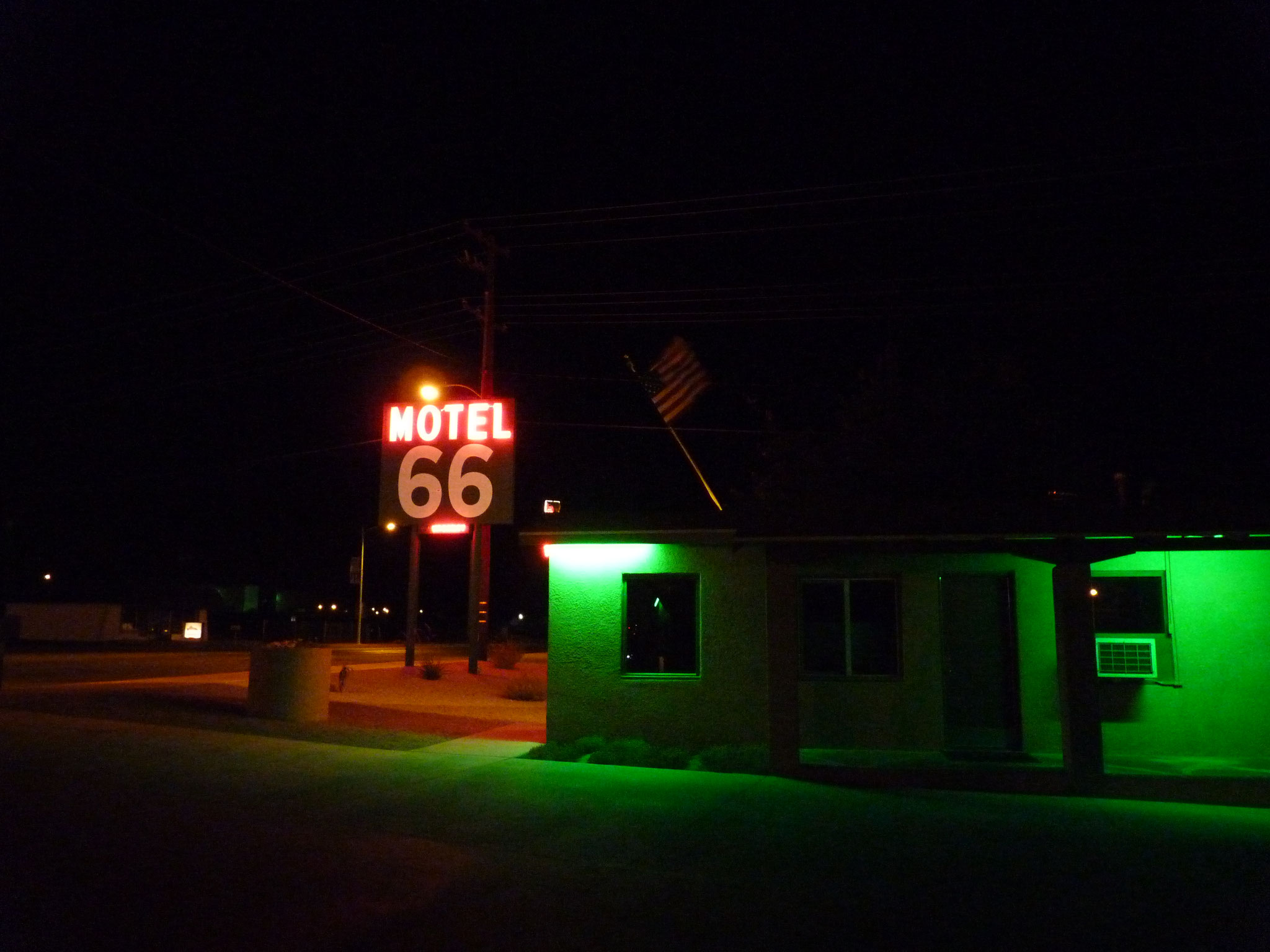"""Motel 66"" Barstow (Californie)"