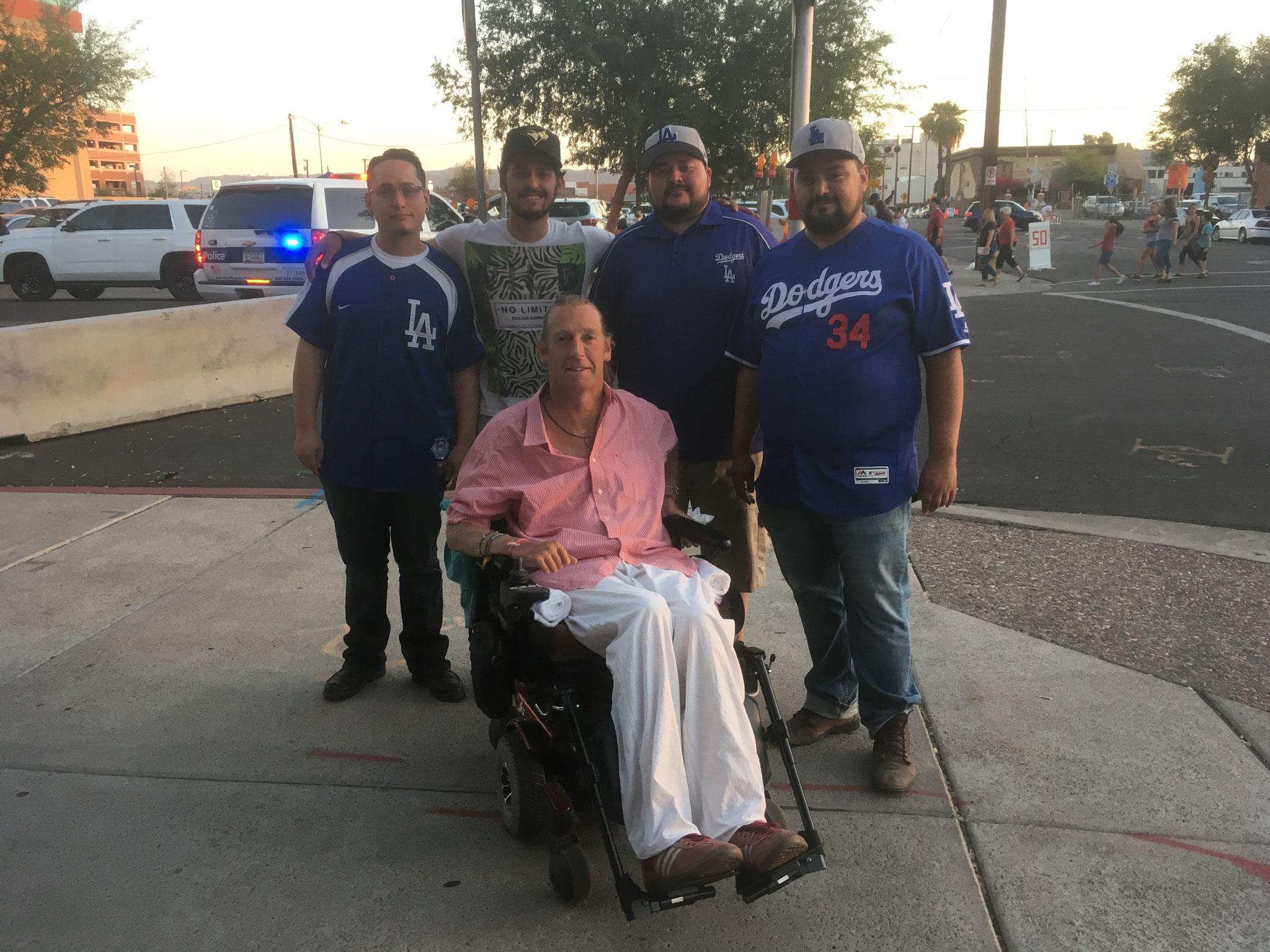 Los Angeles Dodger's Fans