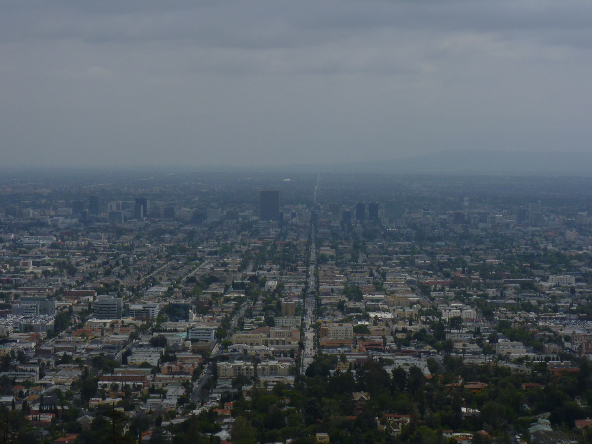 Vue du Griffith Park