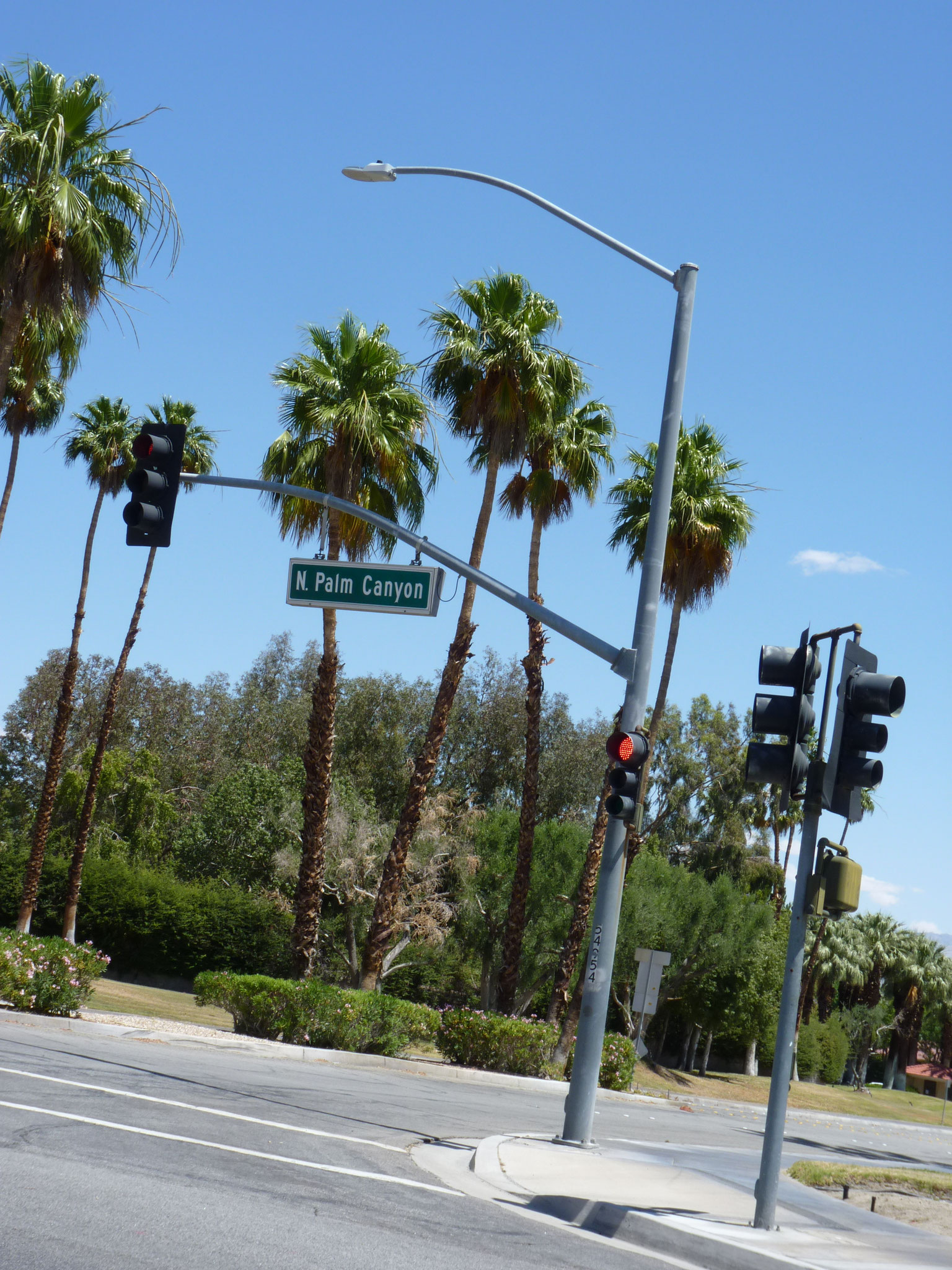 Avenue dans Palm Springs