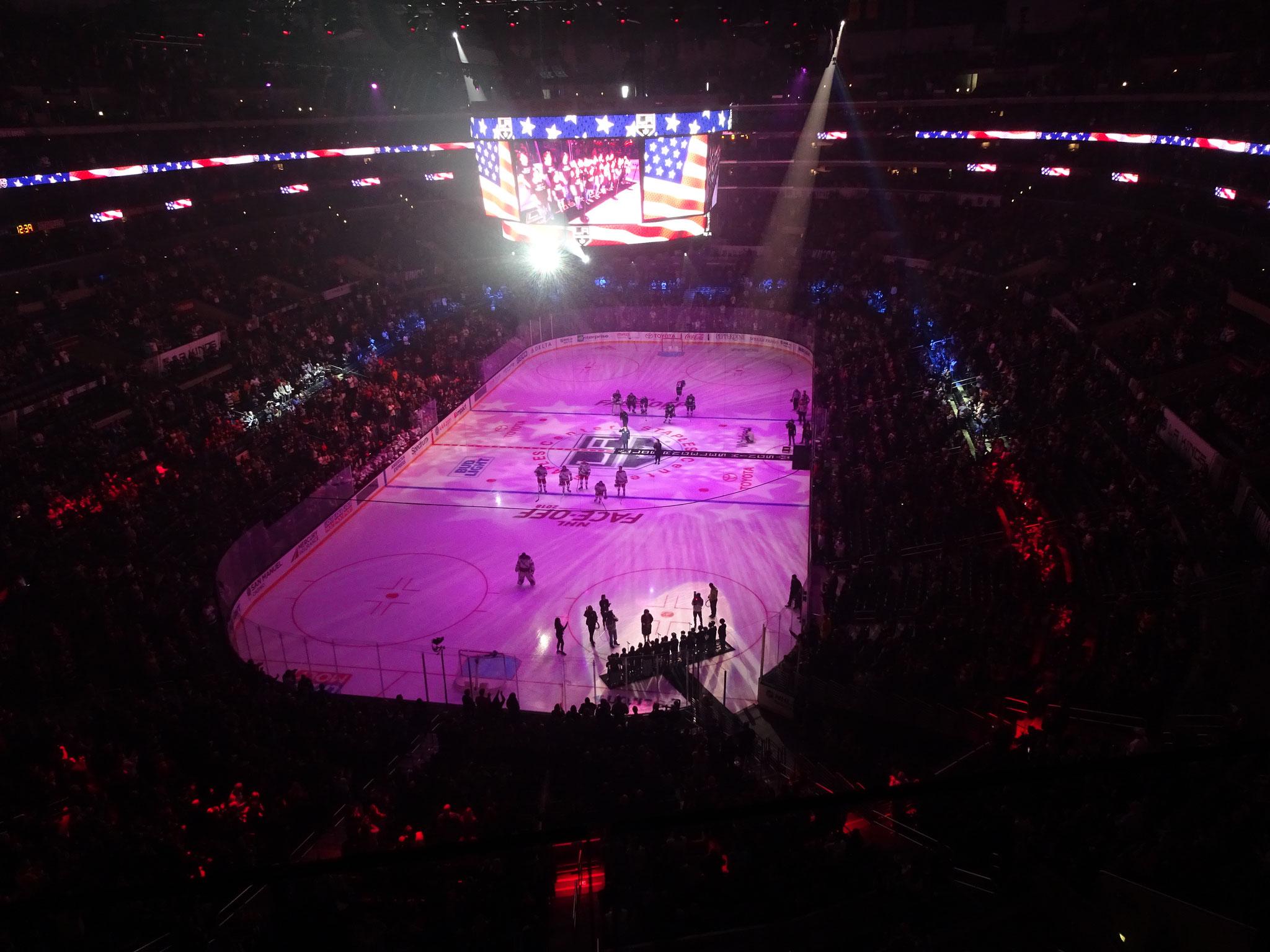 Los Angeles Kings vs New York Rangers
