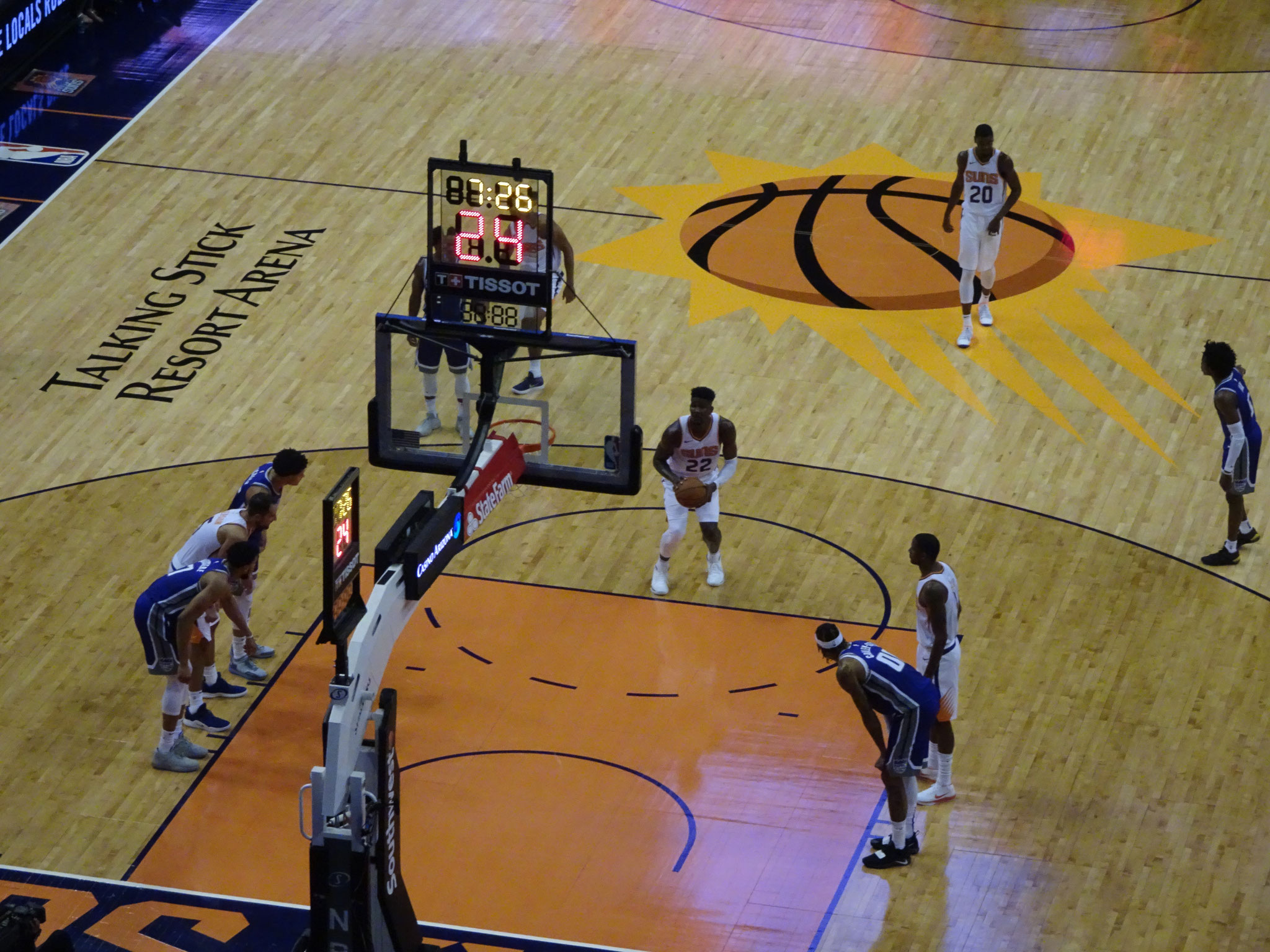 Phoenix Suns vs Sacramento Kings (2018/19)