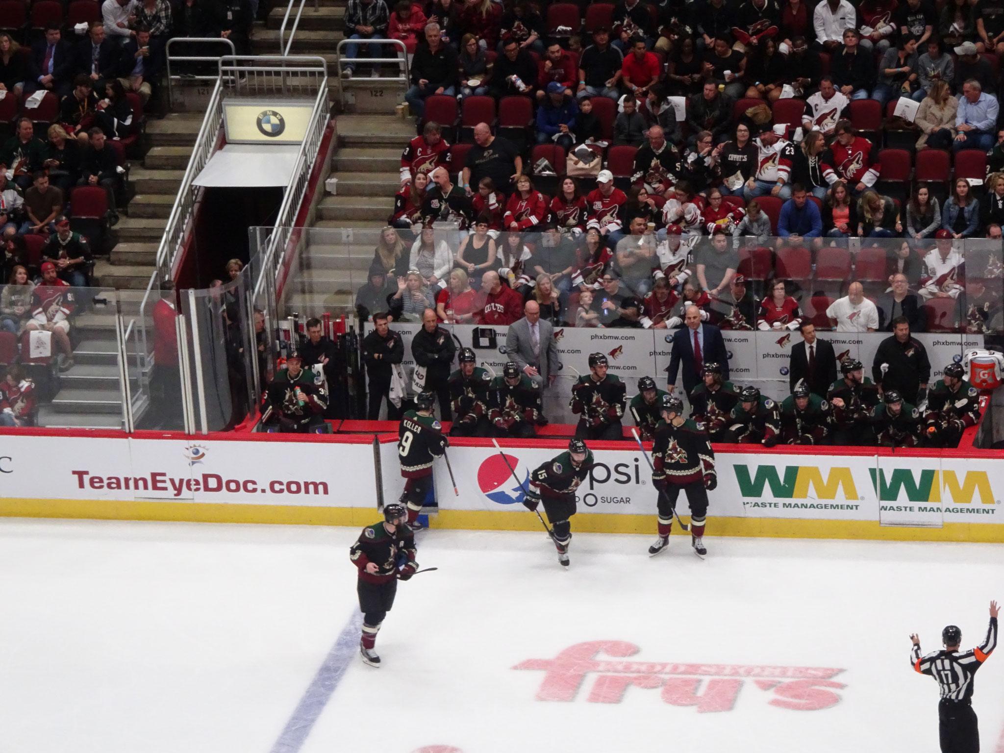 Arizona Coyotes vs Anaheim Ducks (2018/19)