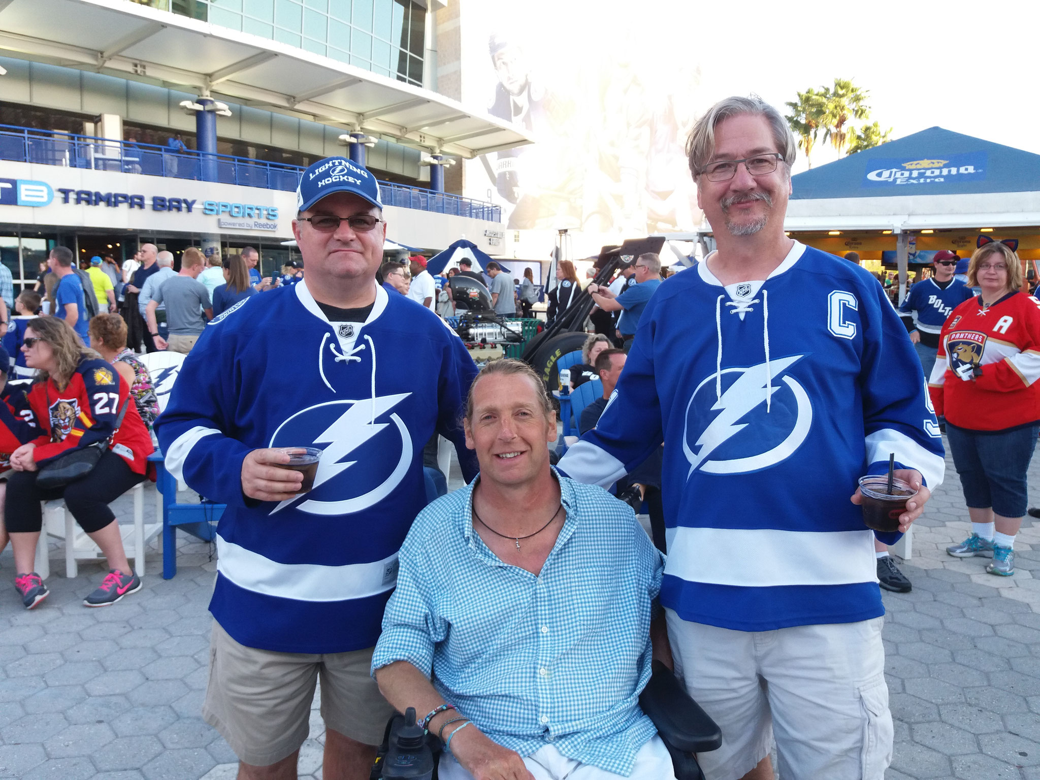 "Tampay Lightning Fans ""Hockey"""