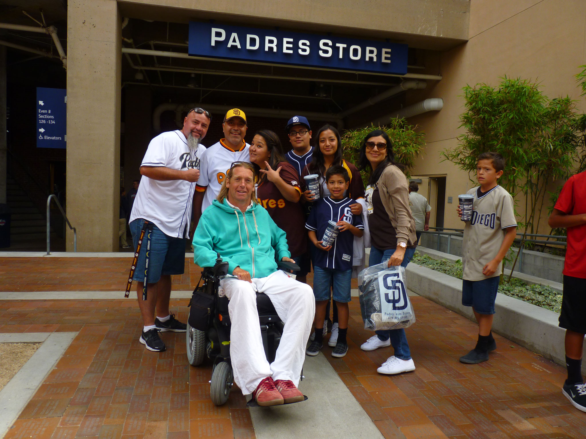 "San Diego Padres Fans ""Baseball"""