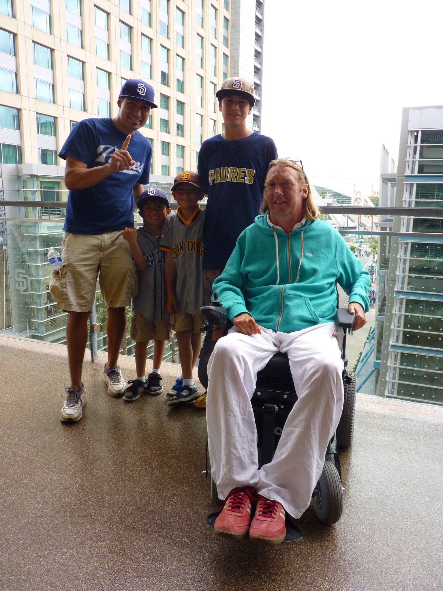 "San Diego Padres Fans ""Baseball"""