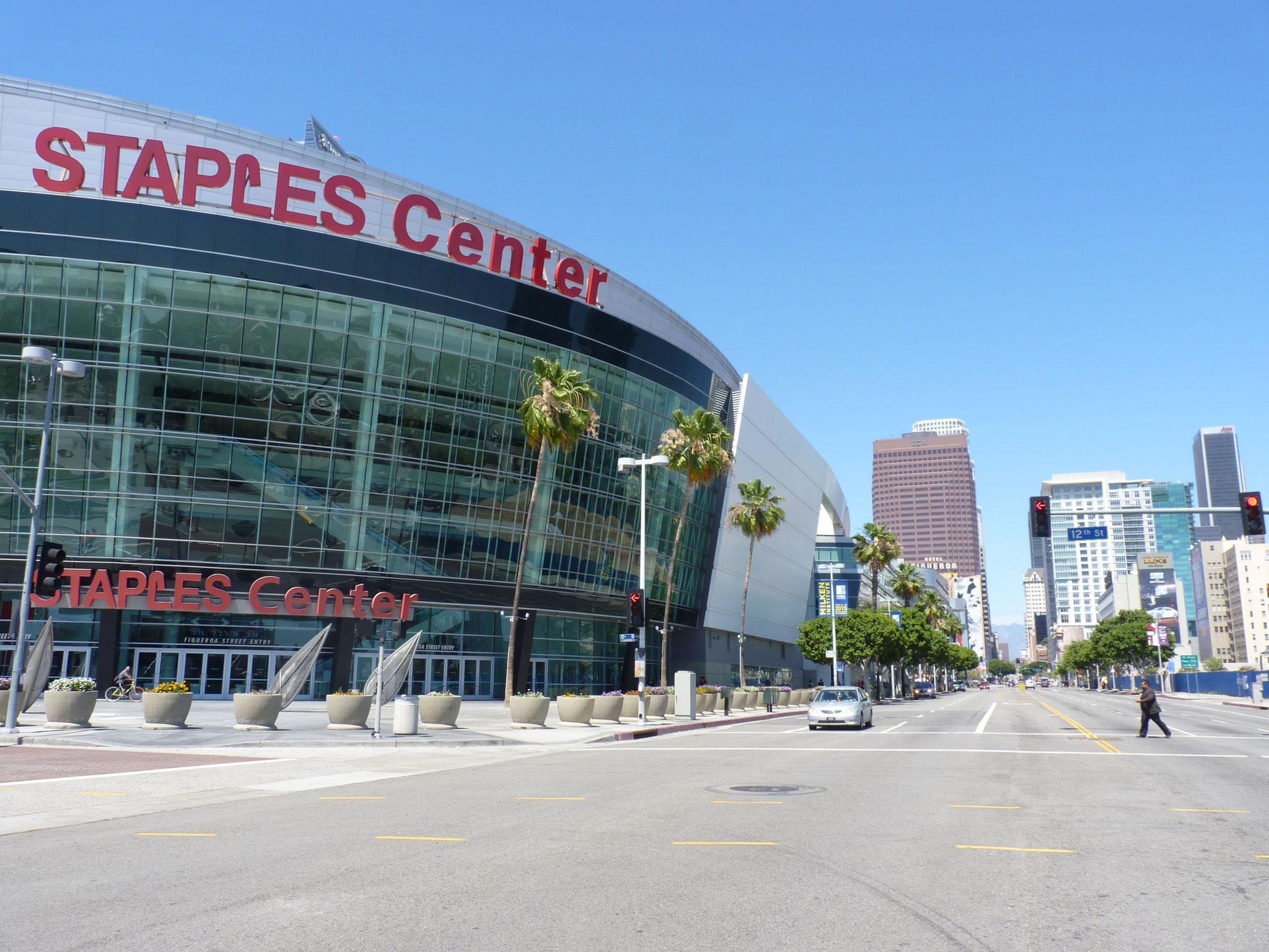 Staples Center largement avant L.A Clippers vs San Antonio Spurs (2014/15)