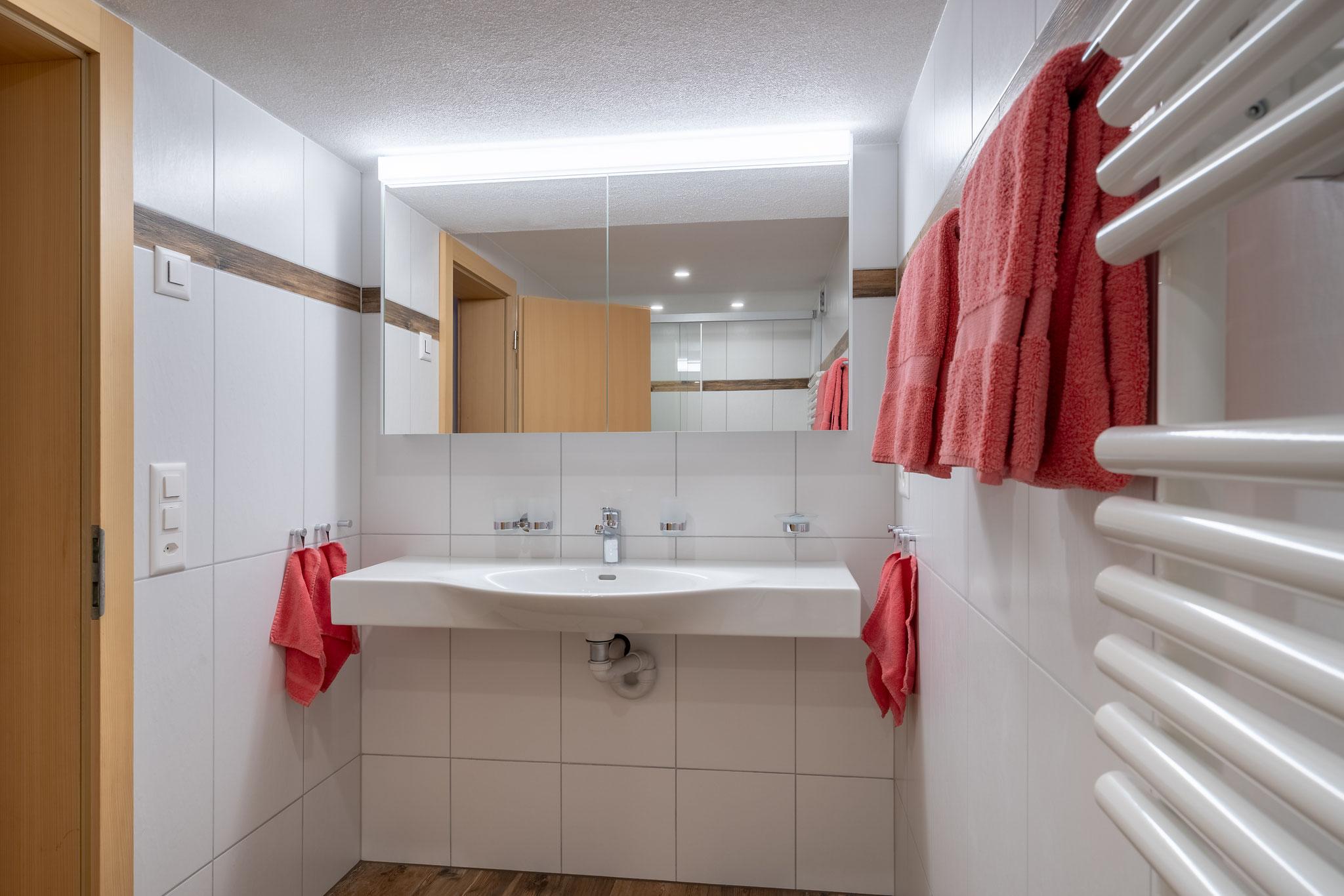Badezimmer mit grossem Lavabo - neu Februar 2019