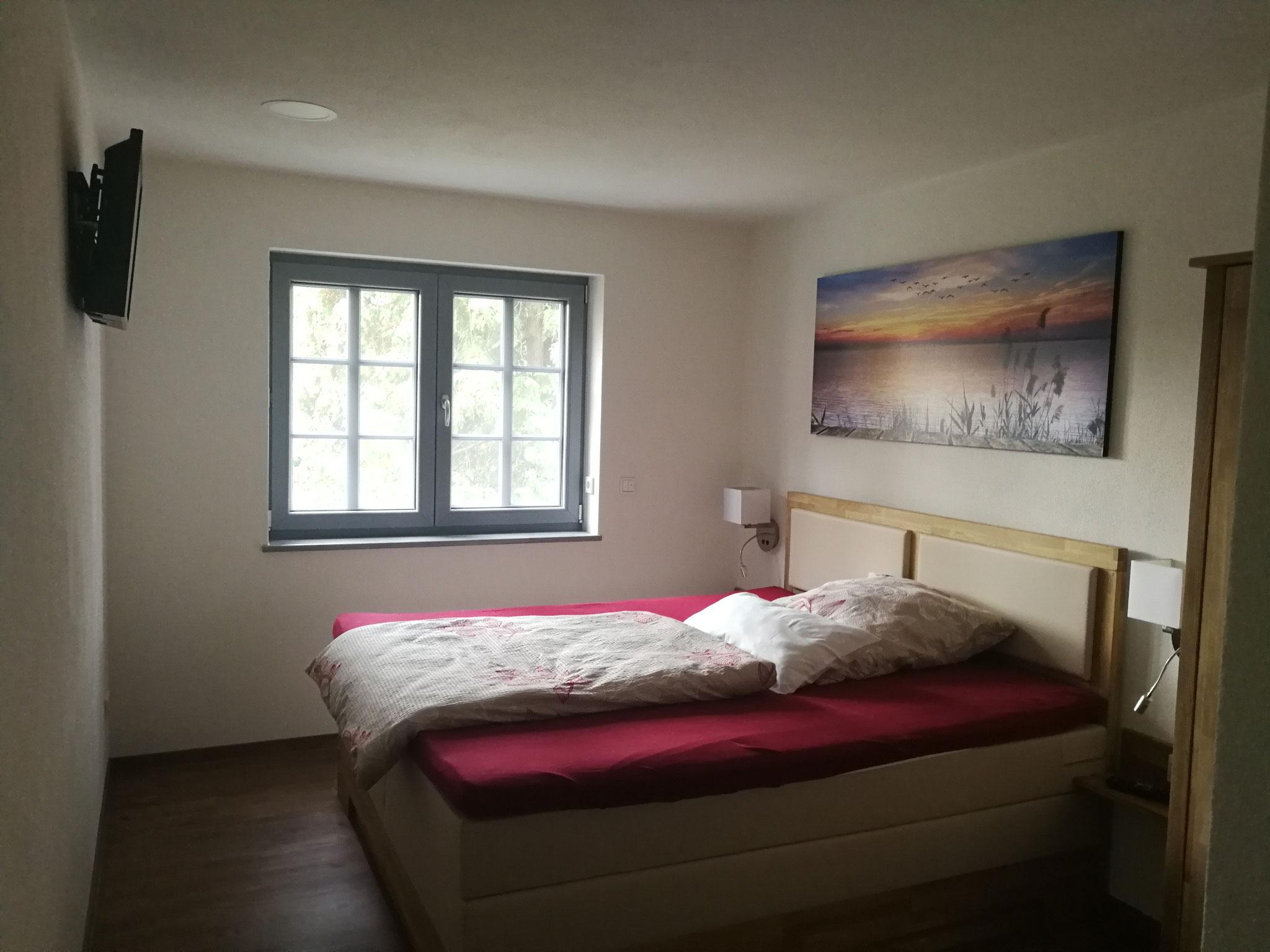 FeWo Obergeschoss Schlafzimmer 2