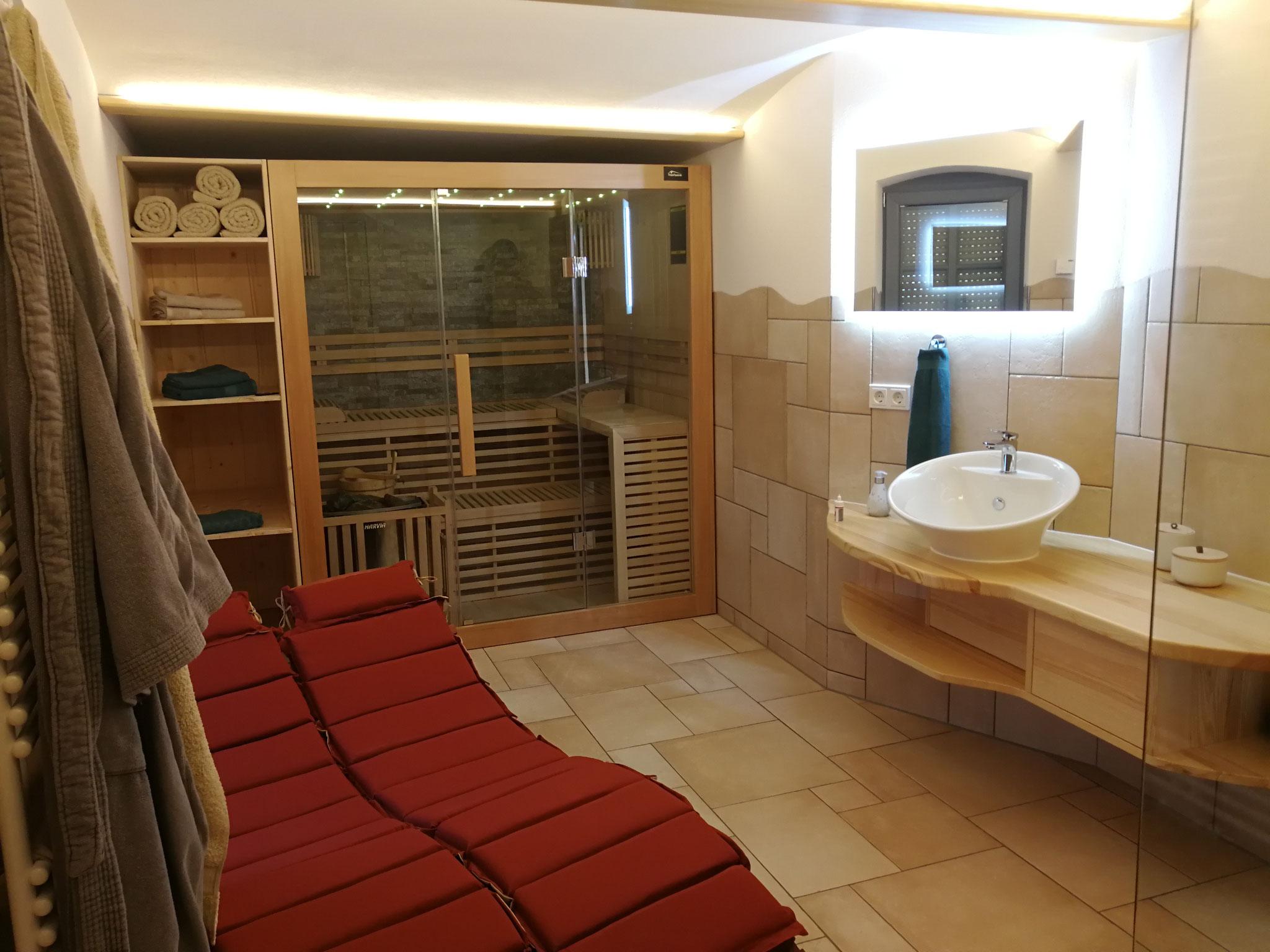 Ferienwohnung Wellness Sauna