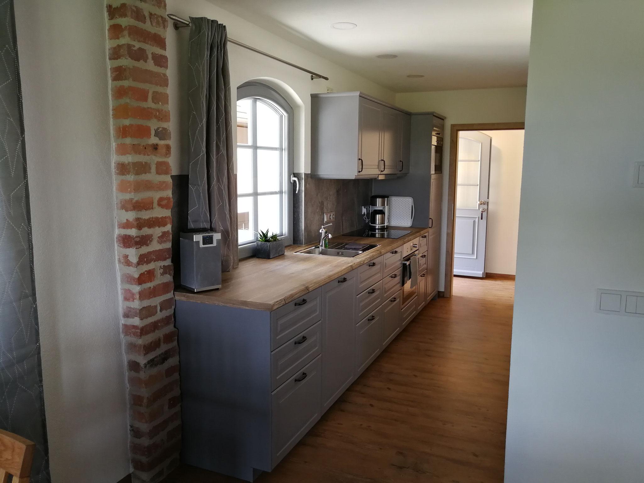 FeWo Obergeschoss Küchenzeile