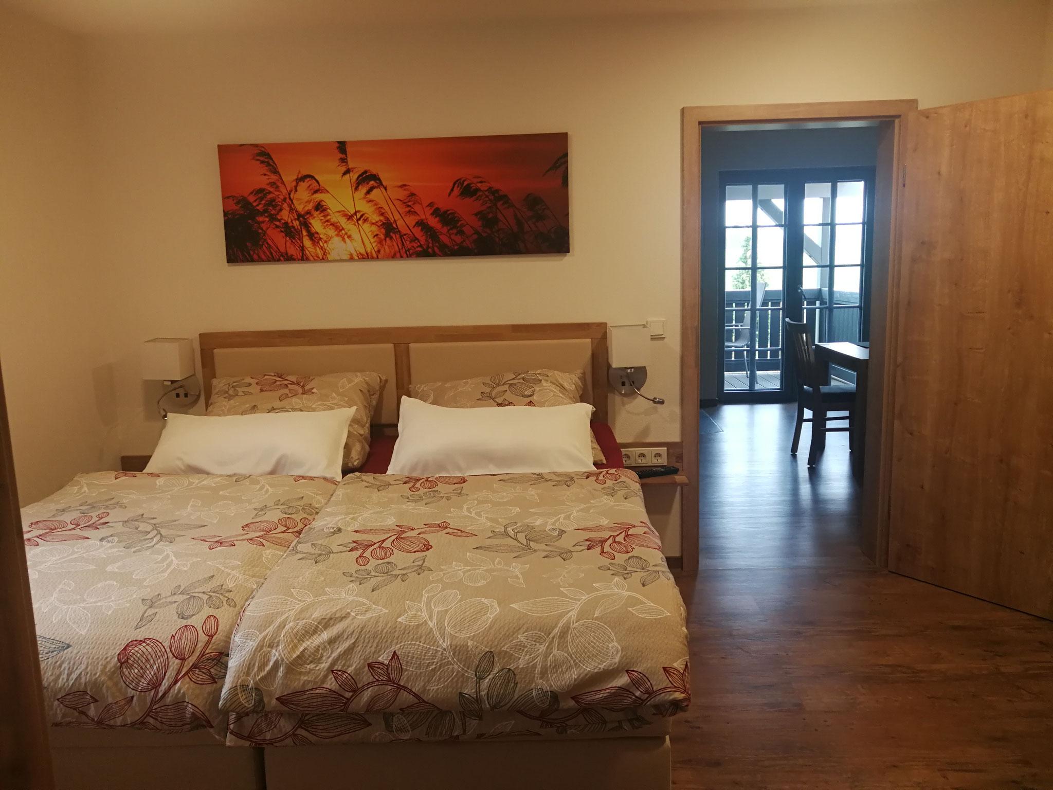 FeWo Obergeschoss Schlafzimmer 1
