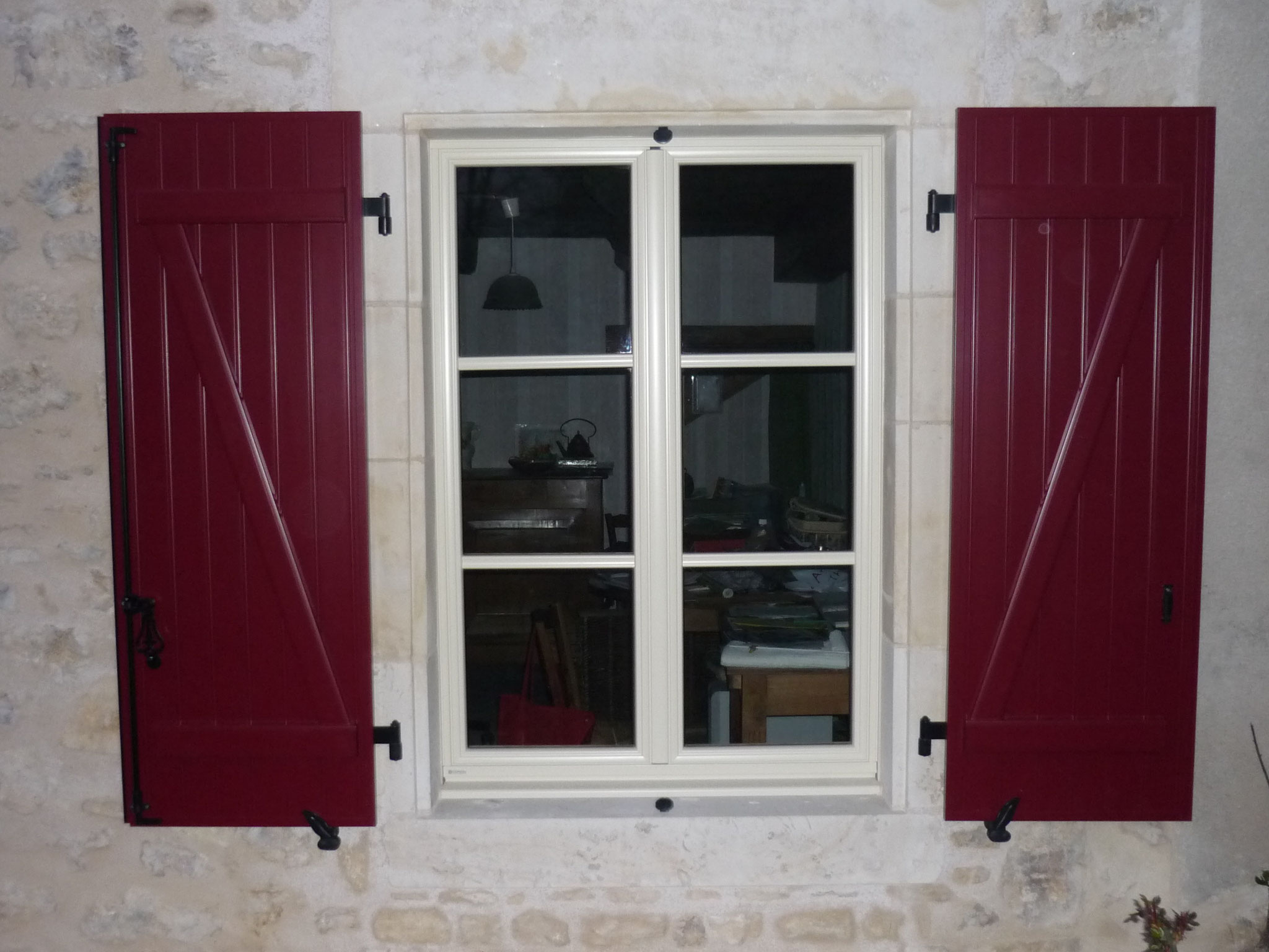 Fenêtre mixte avec volets aluminium