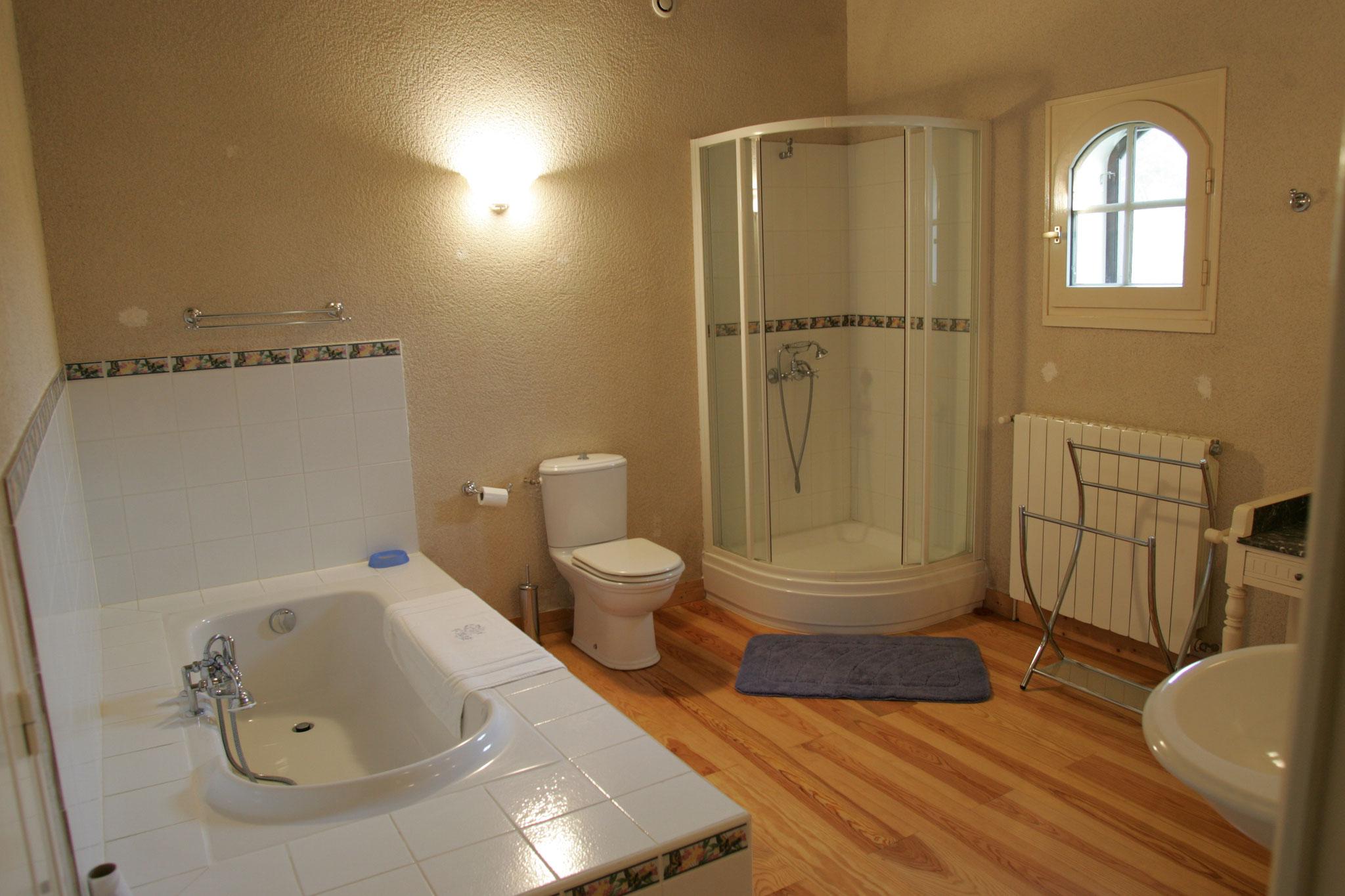 Salle bain rez