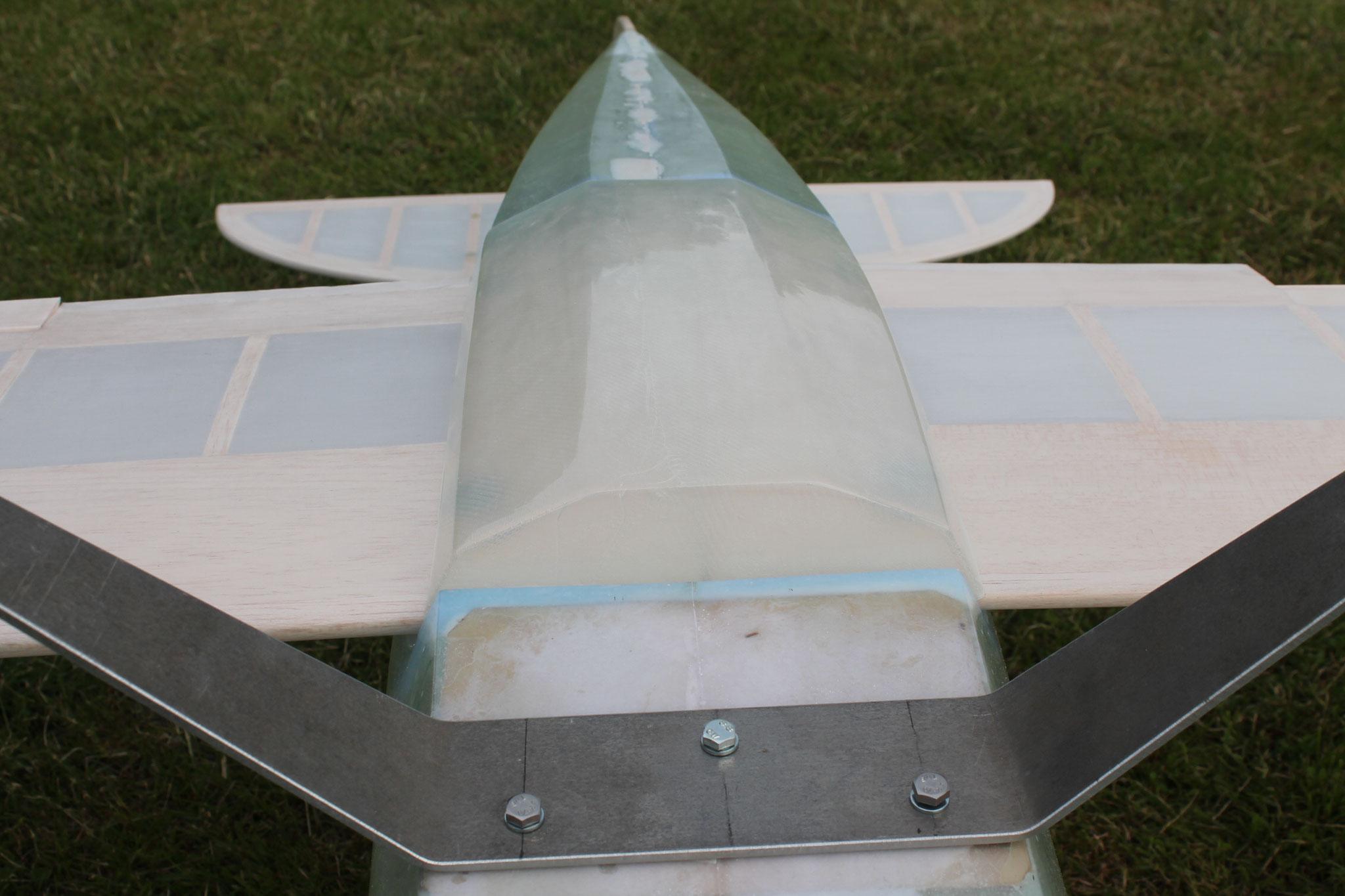 Pitts Special S-1S GFK Epoxy Rumpf CNC Flächen Spannweite 175cm Maßstab 1:3 Bausatz