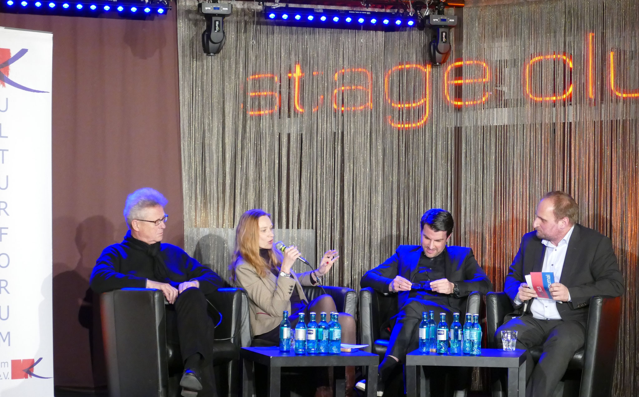 Wieviel Tourismus verträgt Hamburgs Kultur?, 2019, Stage Club