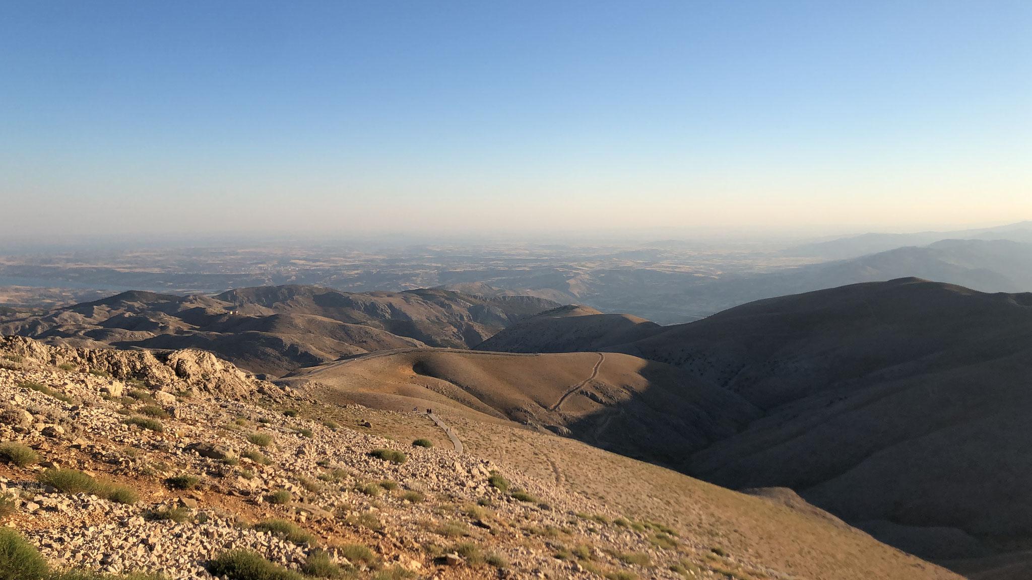 Ausblick von Berg Nemrut