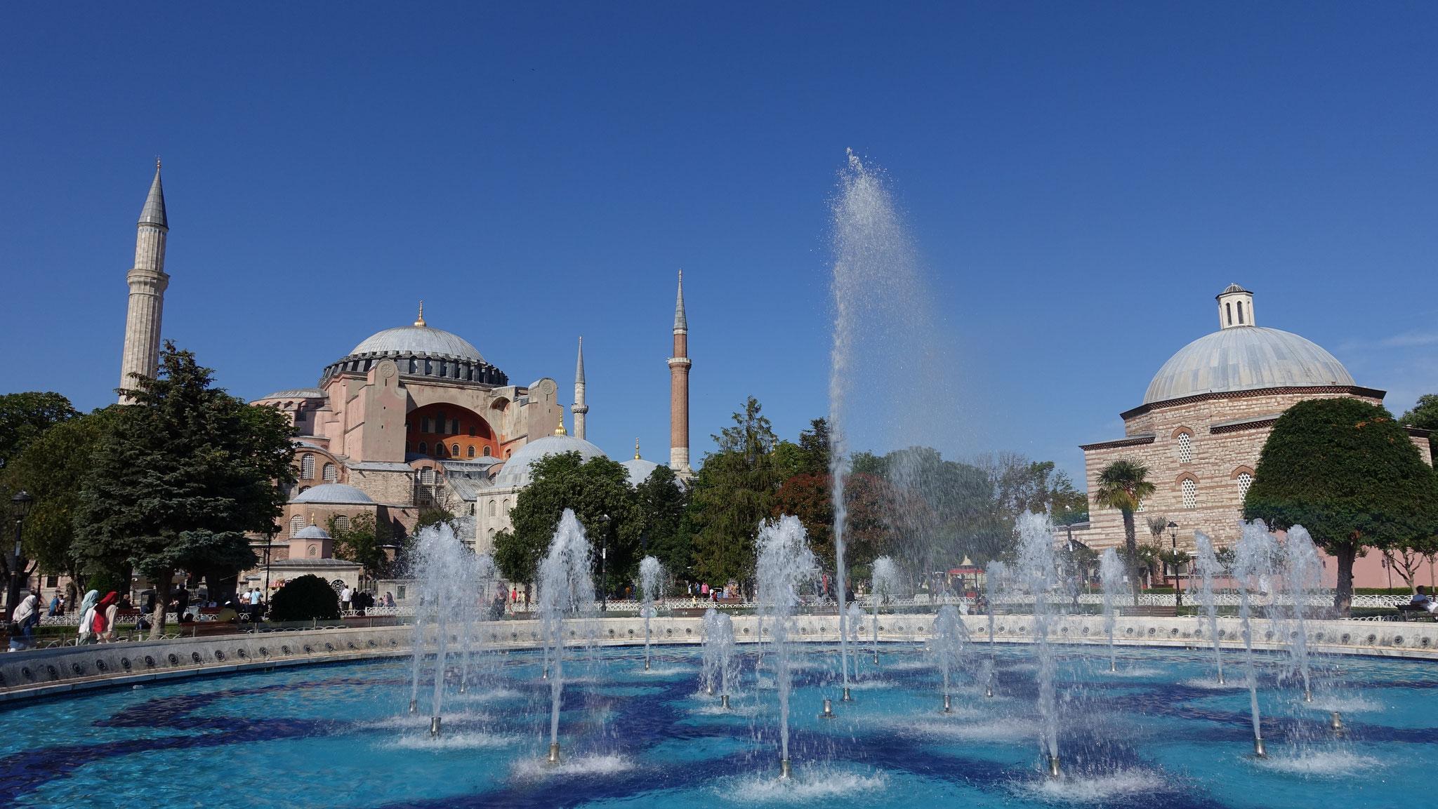 Hagia Sophia von außen