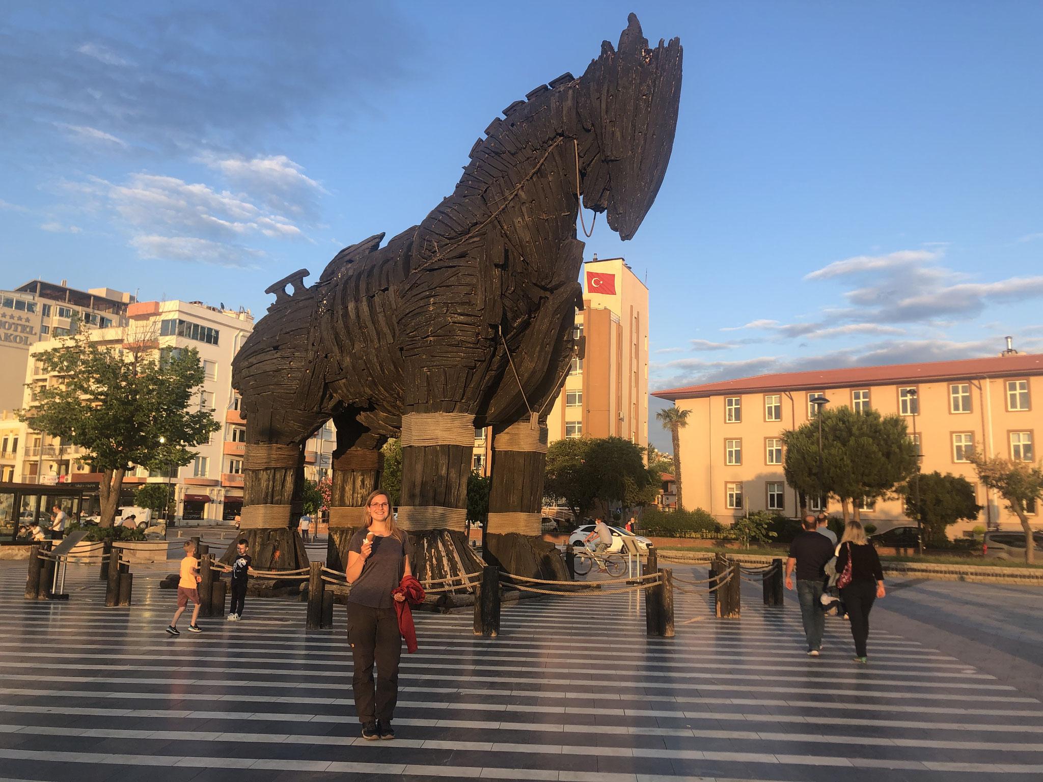 Das Trojanische Pferd in Canakkale