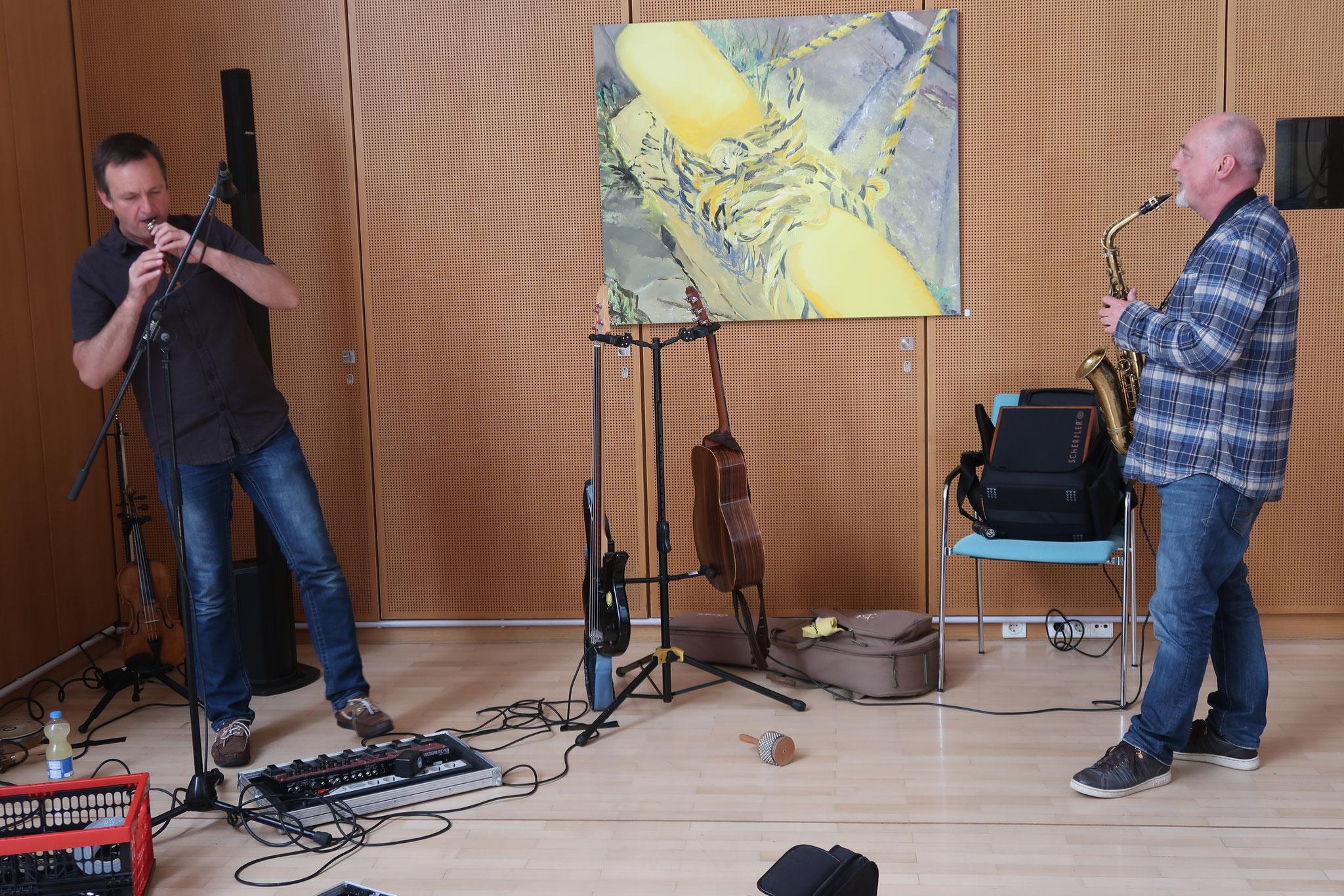"""Kongeniale Musik von Rupert Bopp und Bernd Detzel: """"Ketten und Fenster"""""""