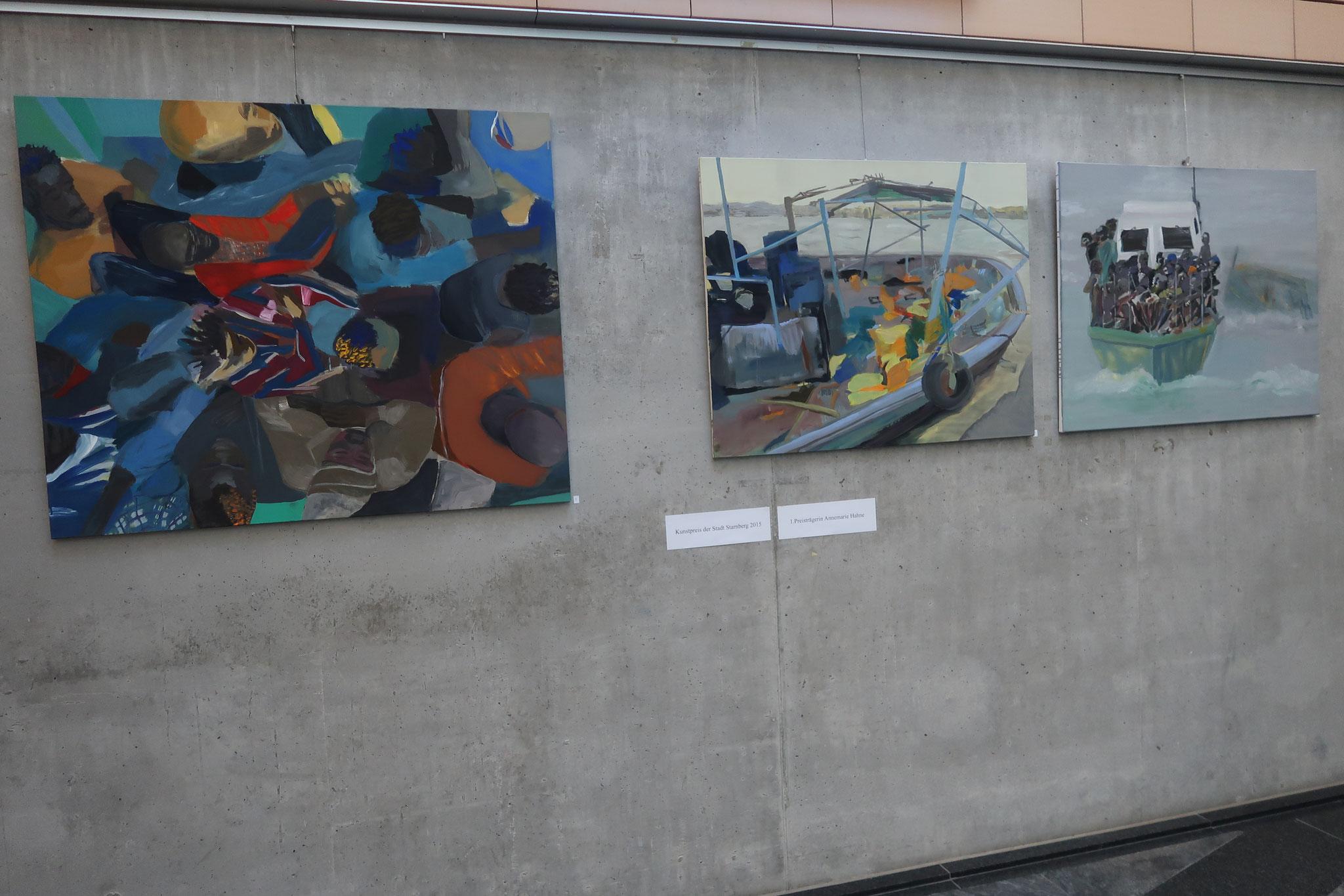 Die prämierten Bilder des Kunstpreises 2015