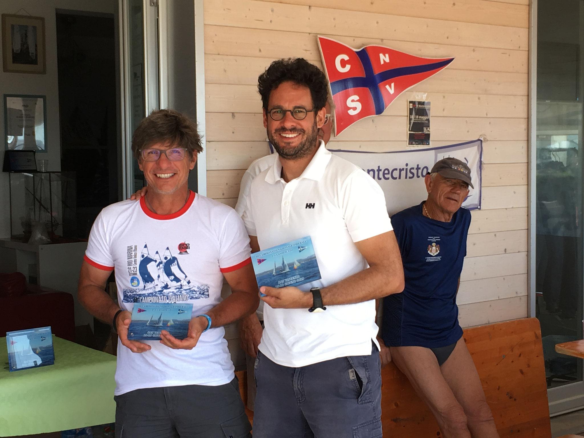 II° Posto - Steven Borzani e Matteo Brescia del Fraglia Vela Desenzano