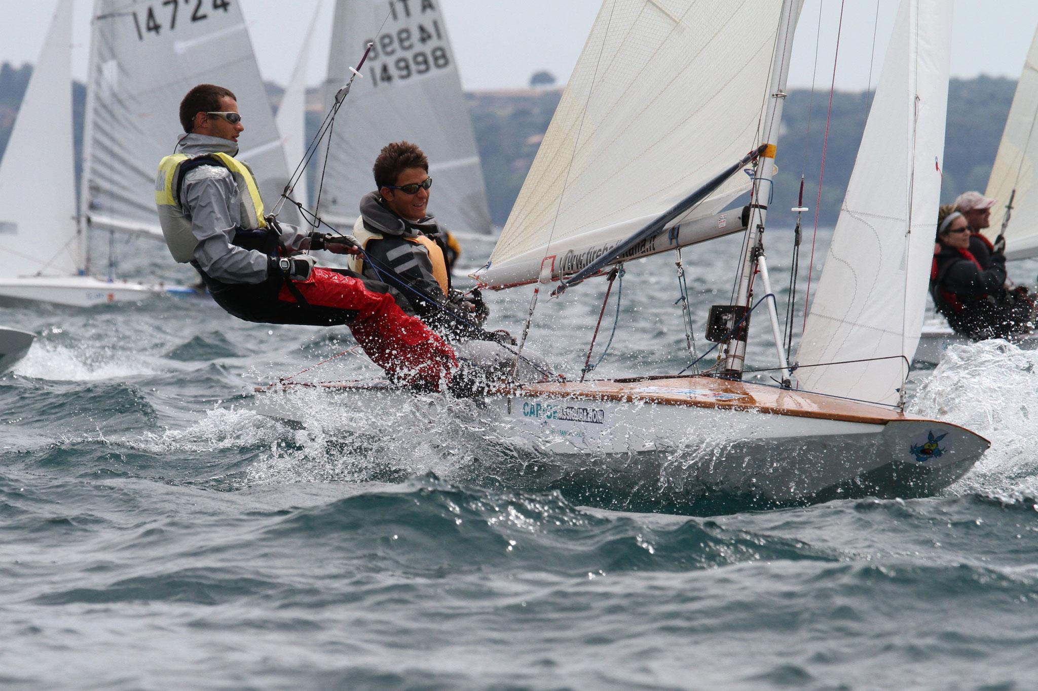 Carlo Zorzi al Campionato europeo di Bracciano con Marco Maero - 2012