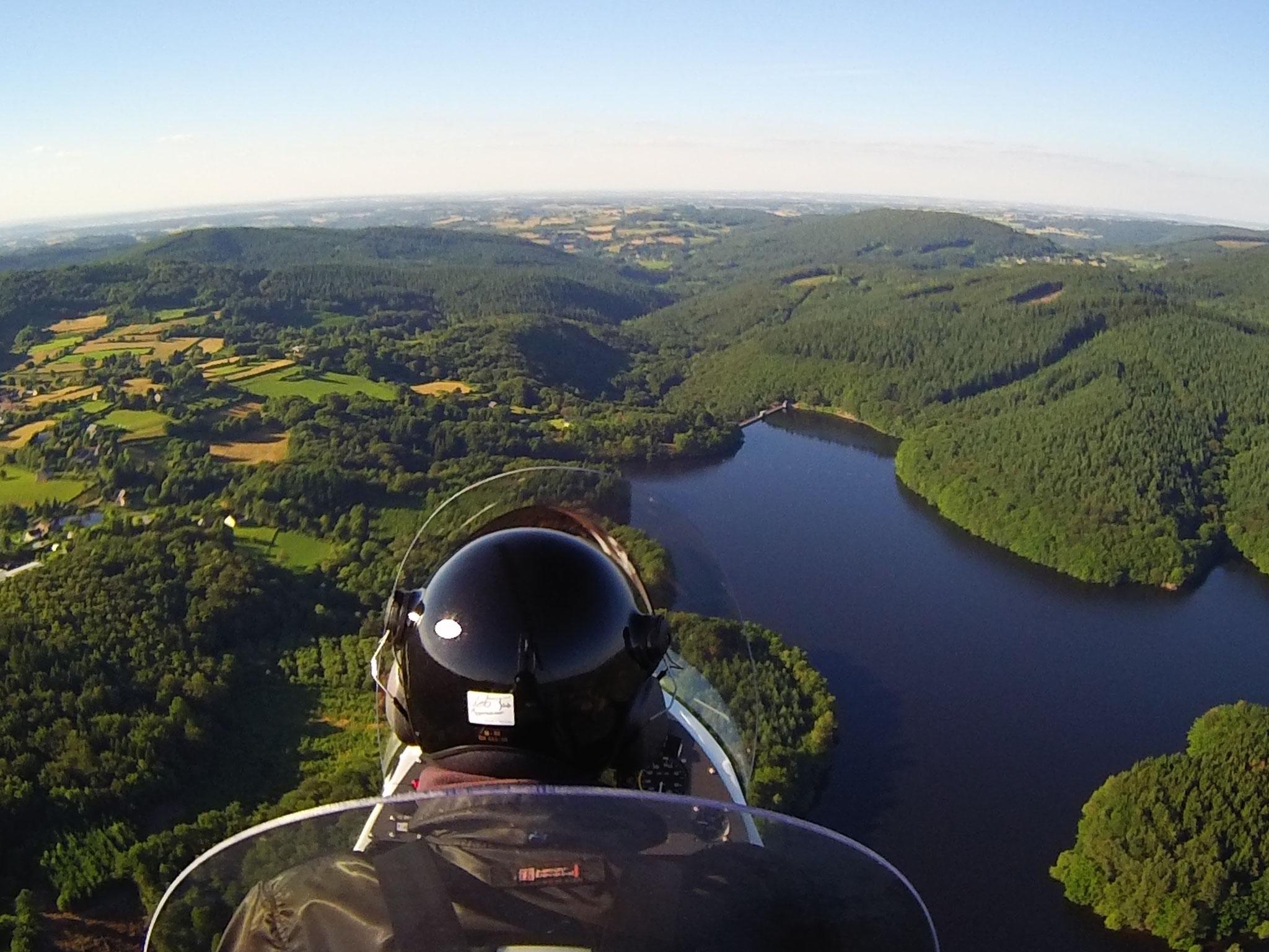 Le lac de Chaumeçon