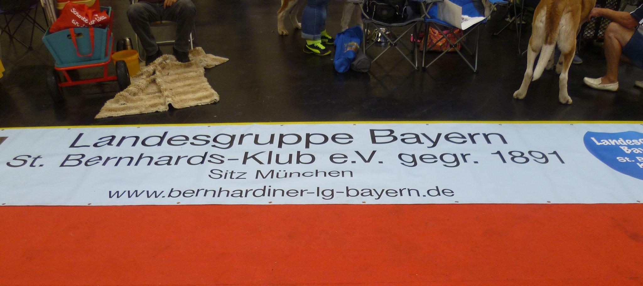 Banner der Landesgruppe Bayern