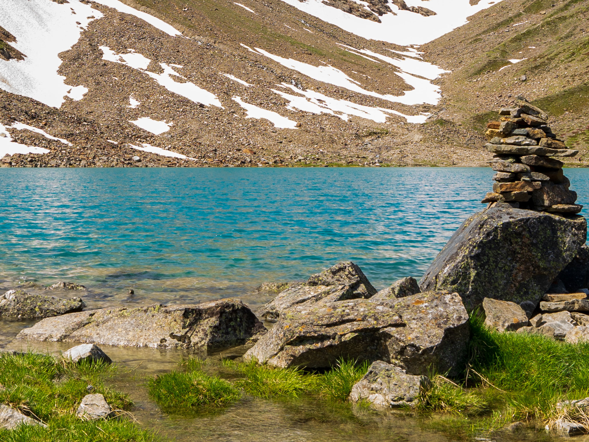 Achtsamkeitswandern, meditatives Wandern, Stubaital
