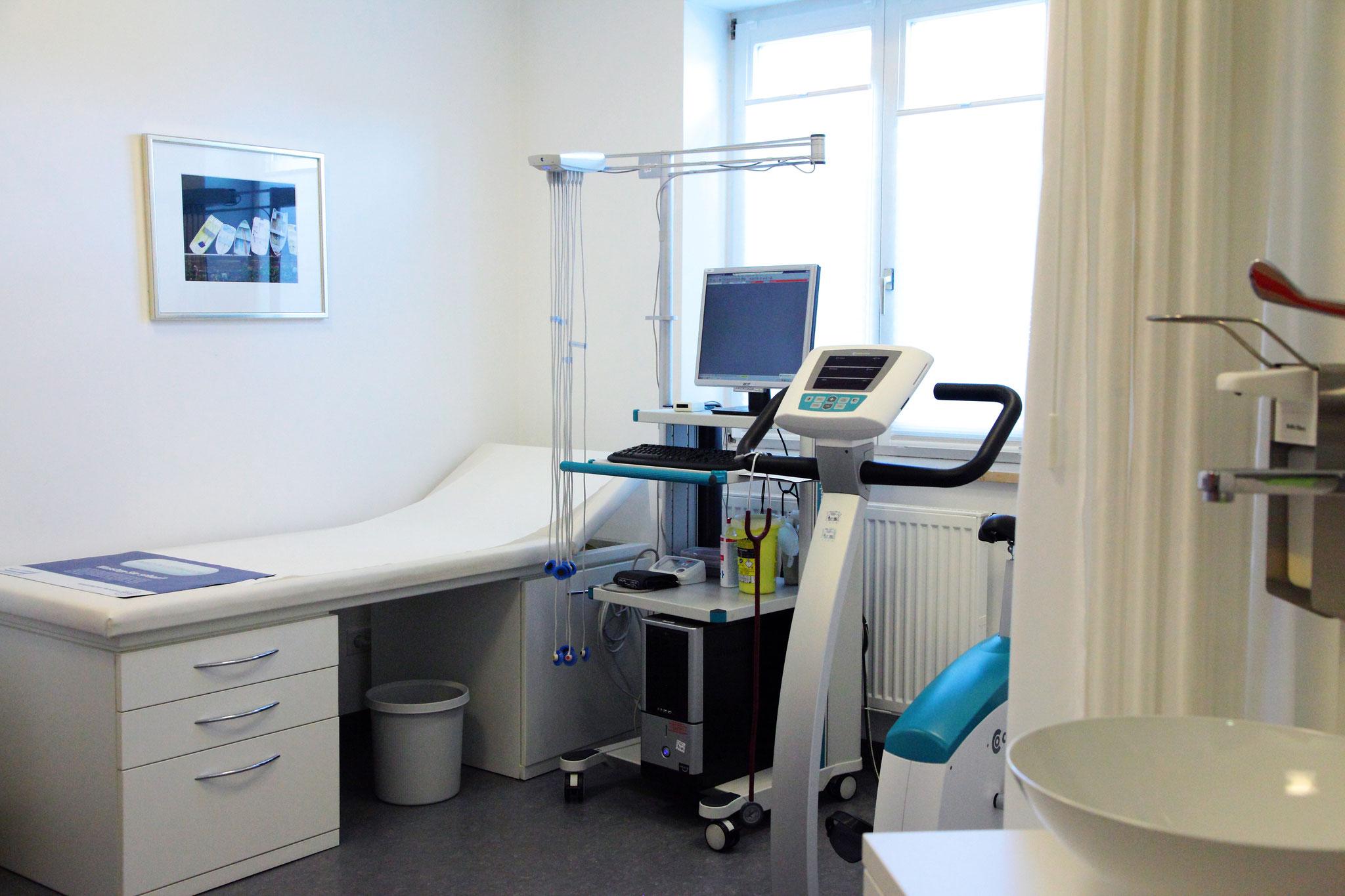 Ruhe- und Belastungs-EKG