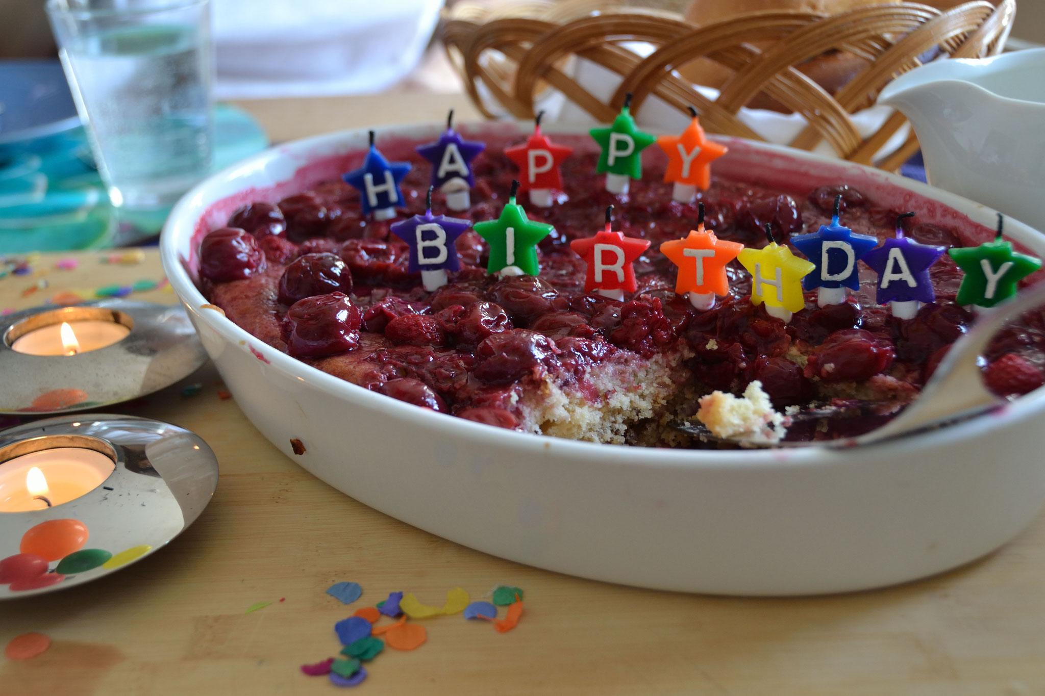 Creamberry kuchen