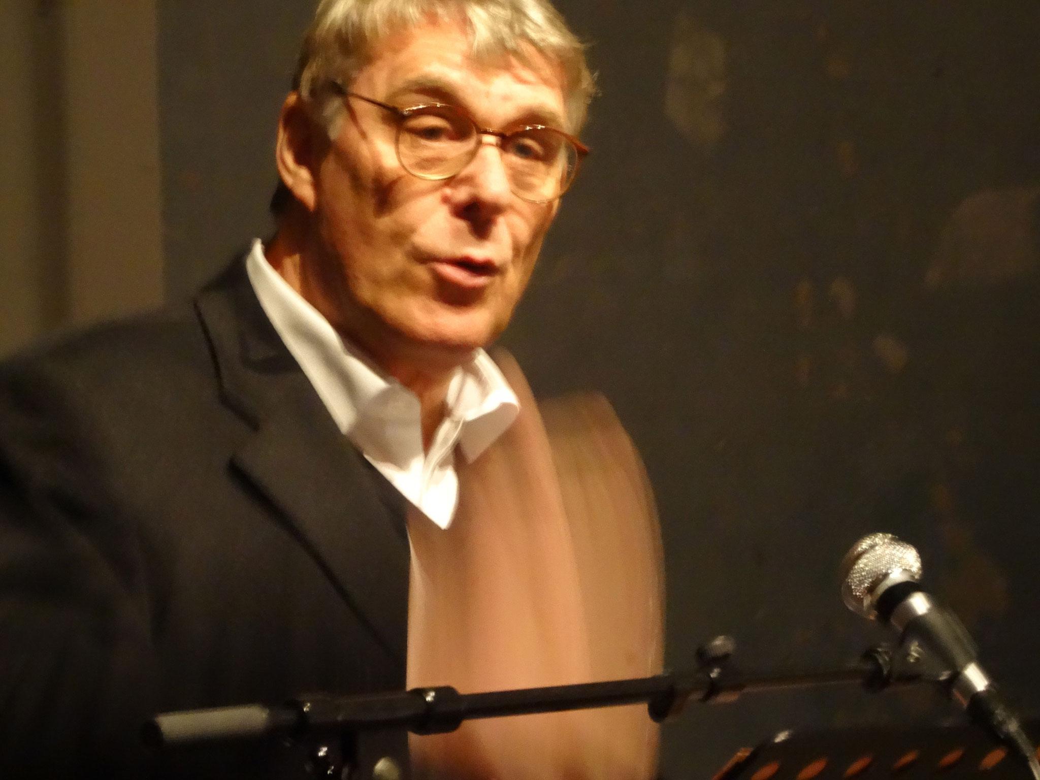 Präsident Jean-Luc Bredel mit einer flammenden Rede für den trinationalen Kulturaustausch am Oberrhein