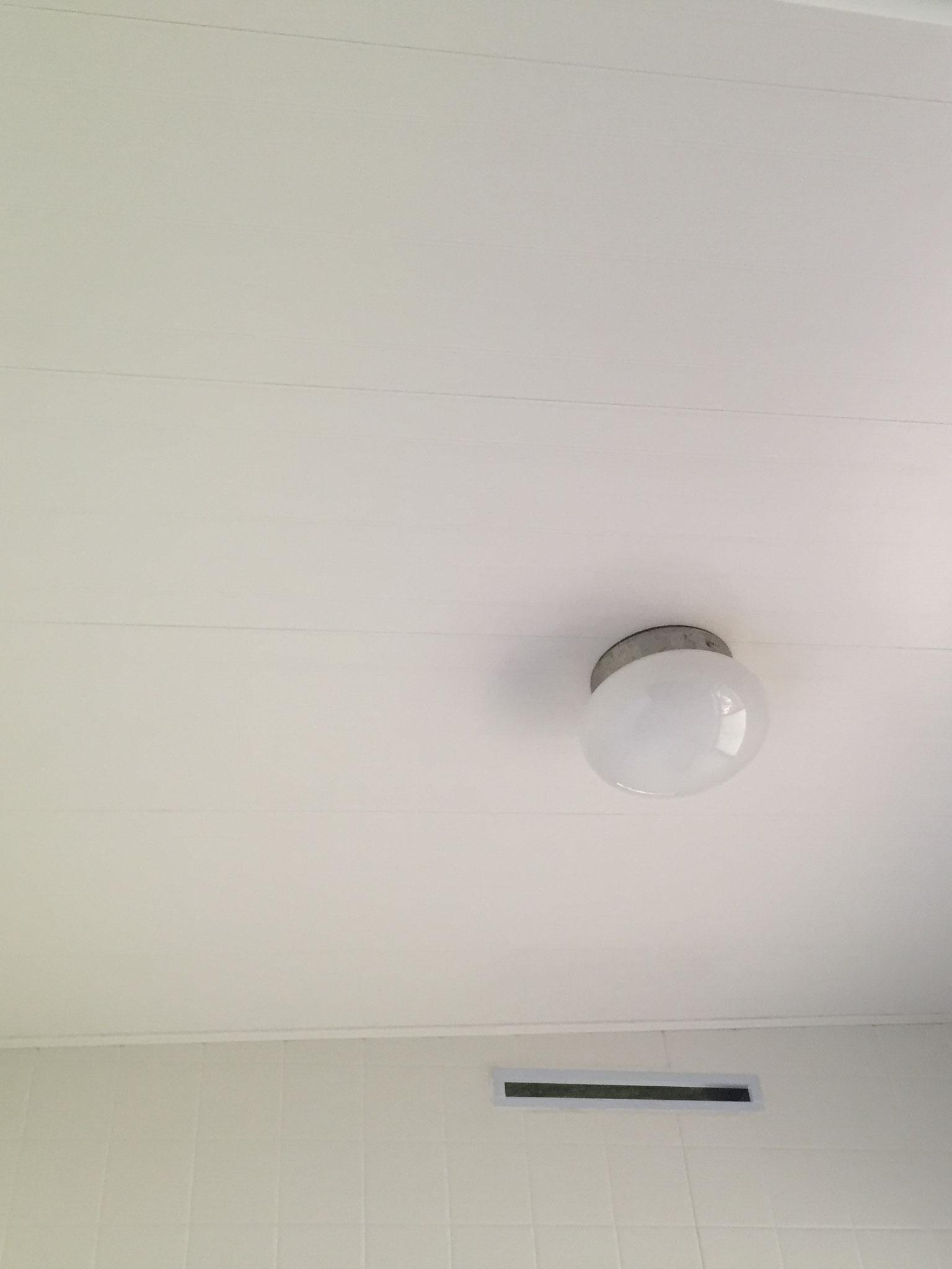 在来タイル浴室 天井 バスリブ