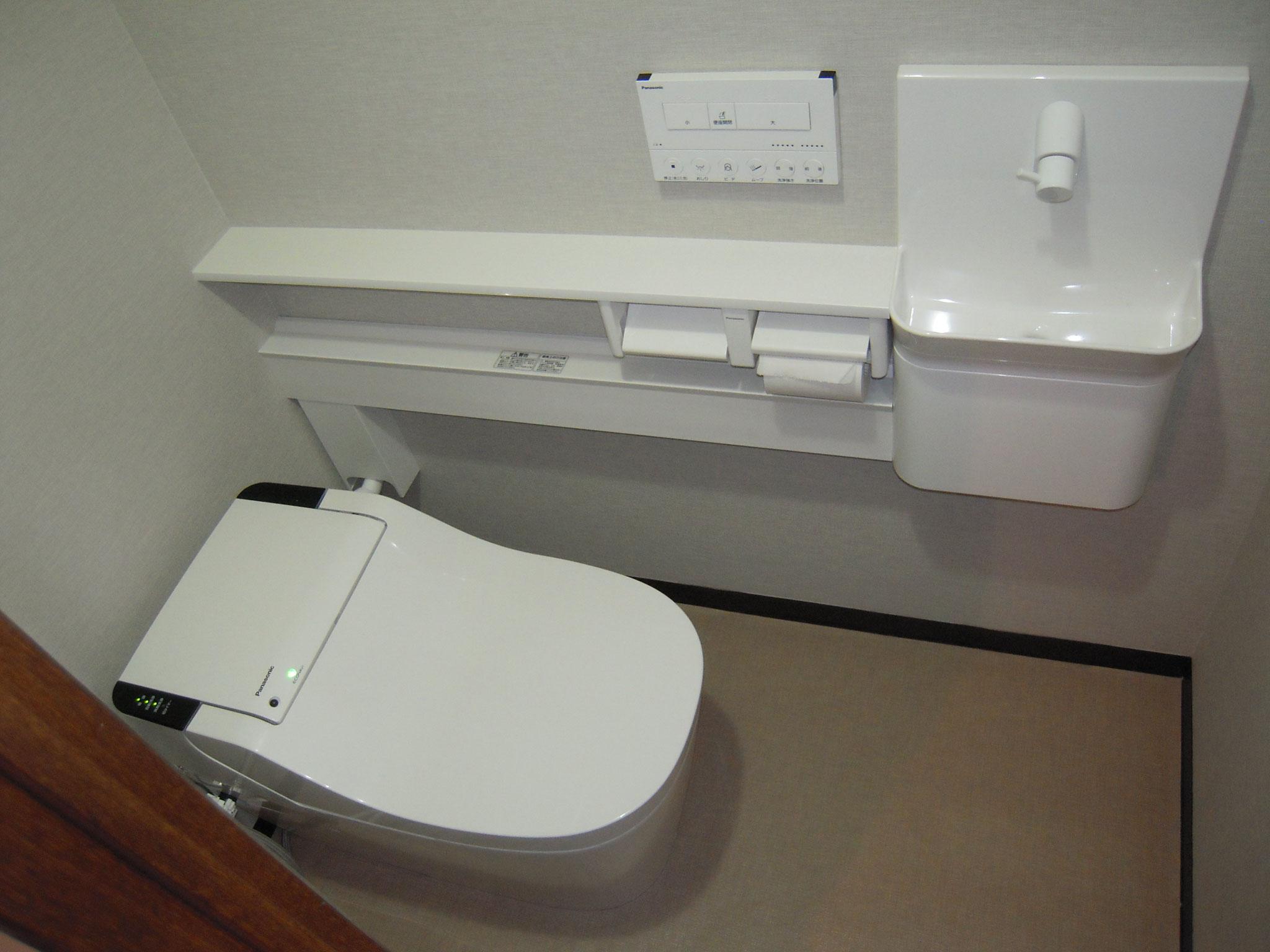 トイレリフォーム・手洗いカウンター