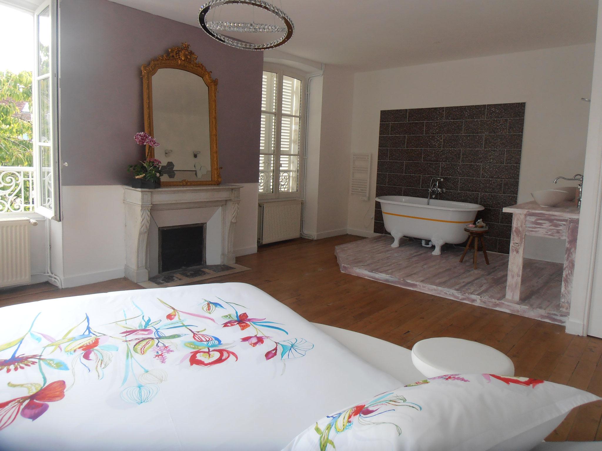 Chambre Ouverte Salle De Bain nos chambres - site de lafruitiere-chambresdhotes !