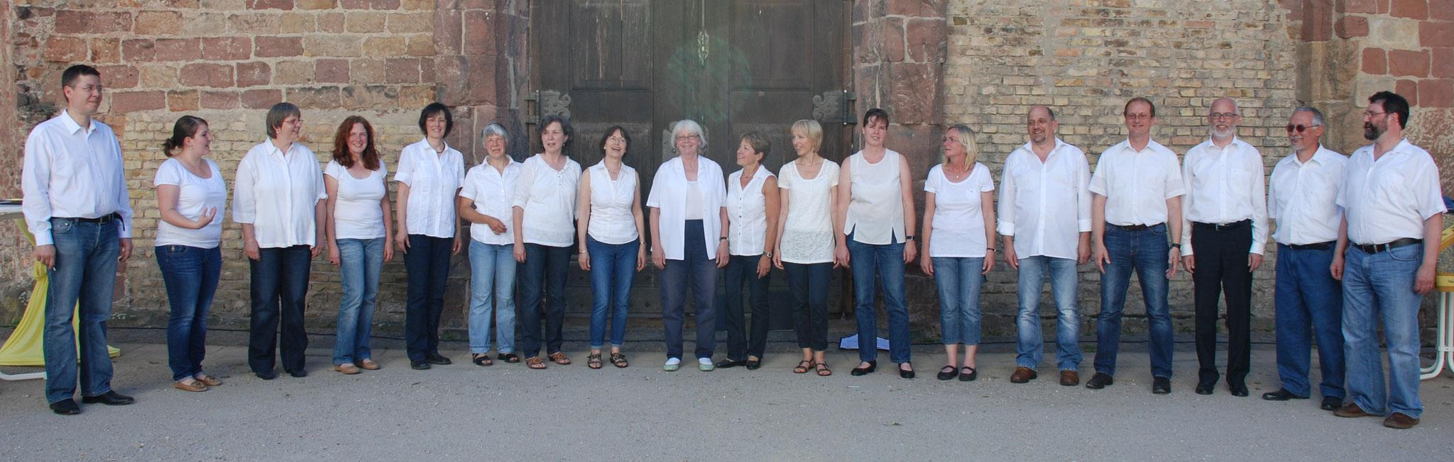 Konzert in der Erkenbertruine in Frankenthal 2013,  Foto: Simon Dirion-Gerdes