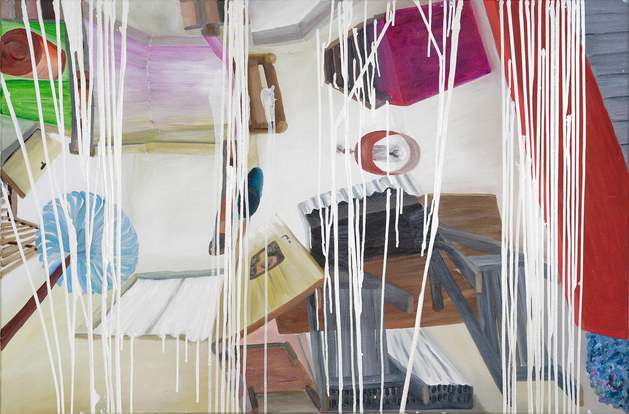 """""""parasiten M1""""  •  2020  •  80 x 120 cm •  oil on canvas"""