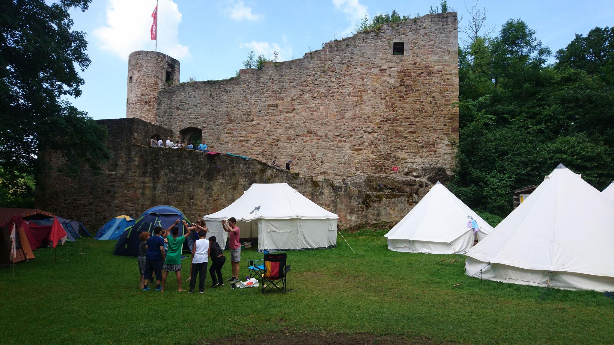 """Zeltlager """"Burg Wallenstein"""""""
