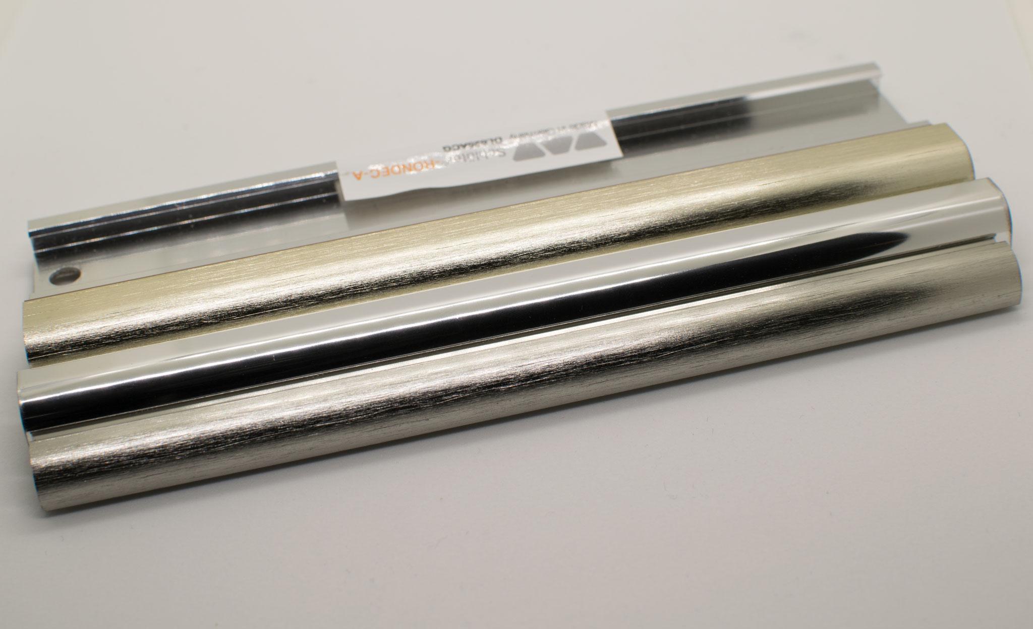 Aluminium matt, glänzend, gebürstet - Innenbereich