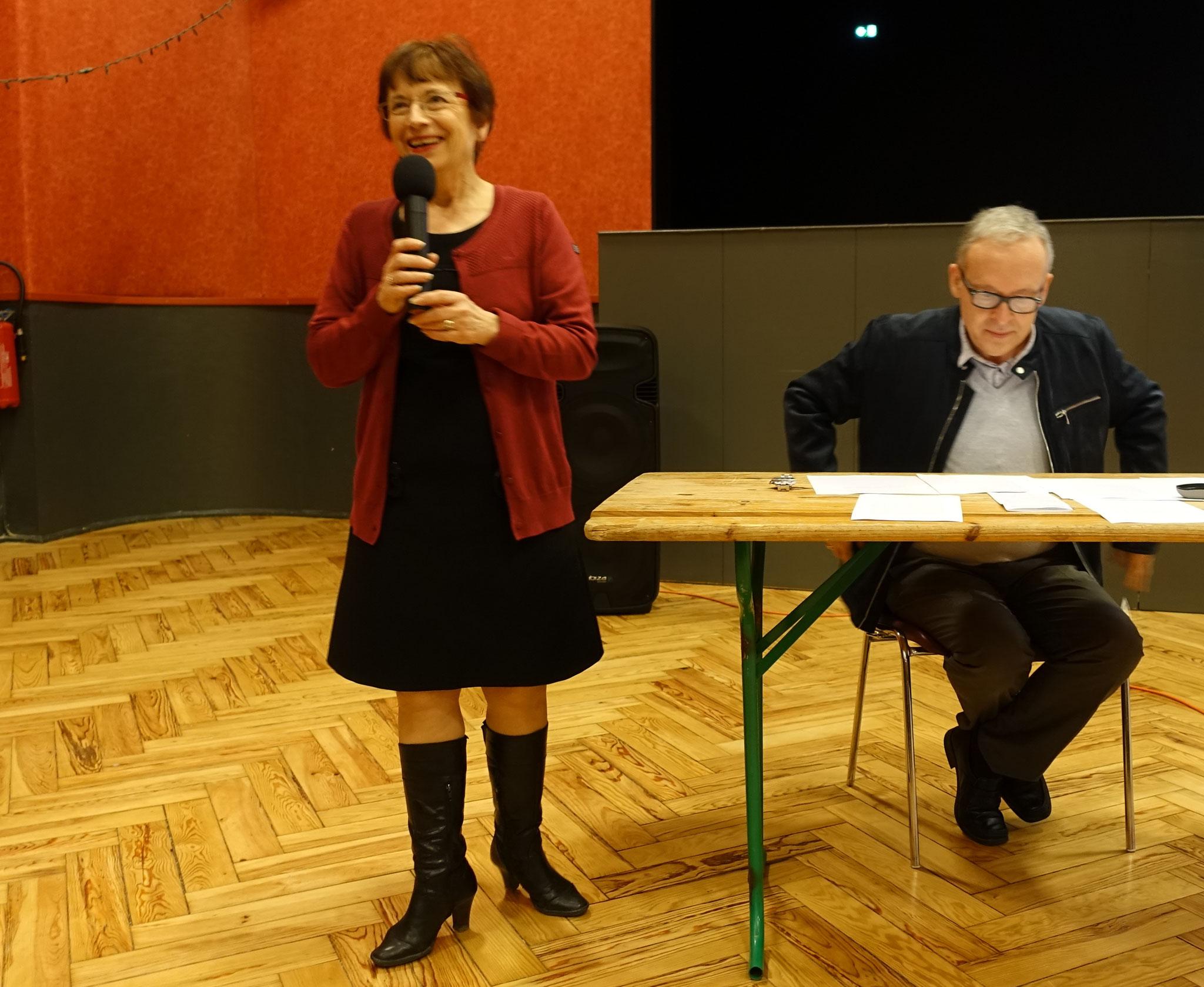 Danielle Larrieu présente Laurent Coste