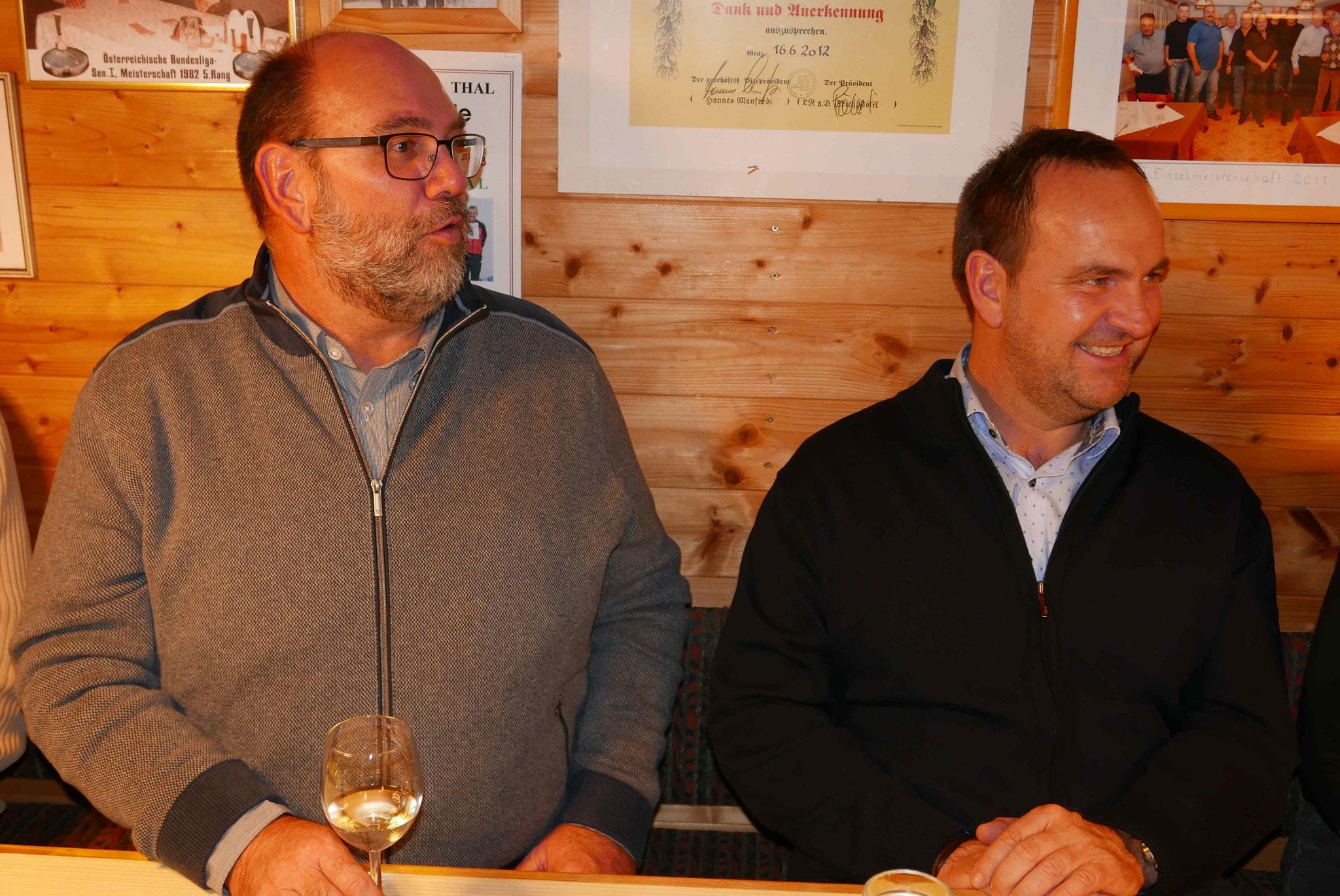 Manfred und Werner Vipautz