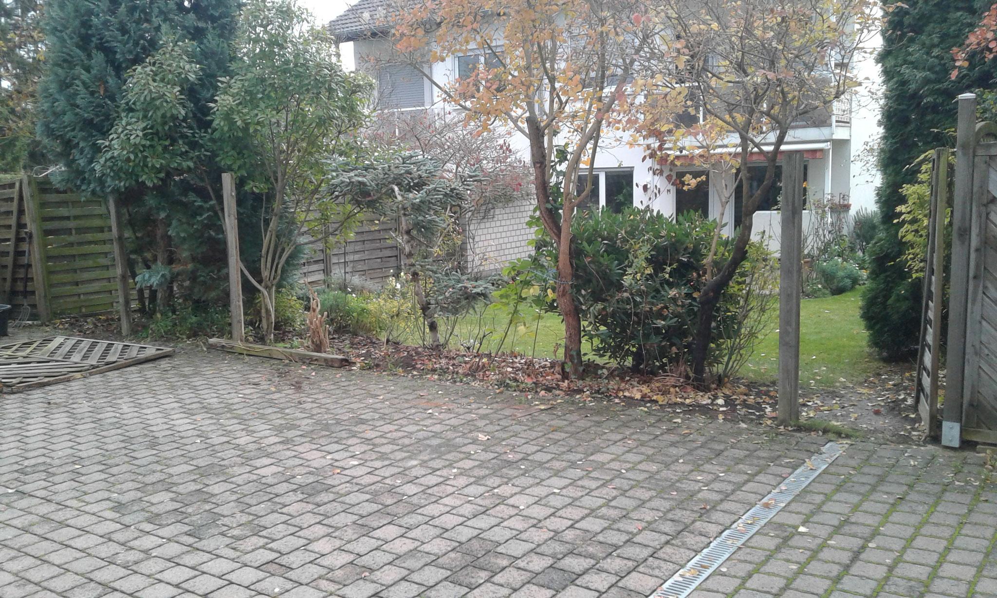 Zaunbauprojekt Mainz 2017 - Abbau