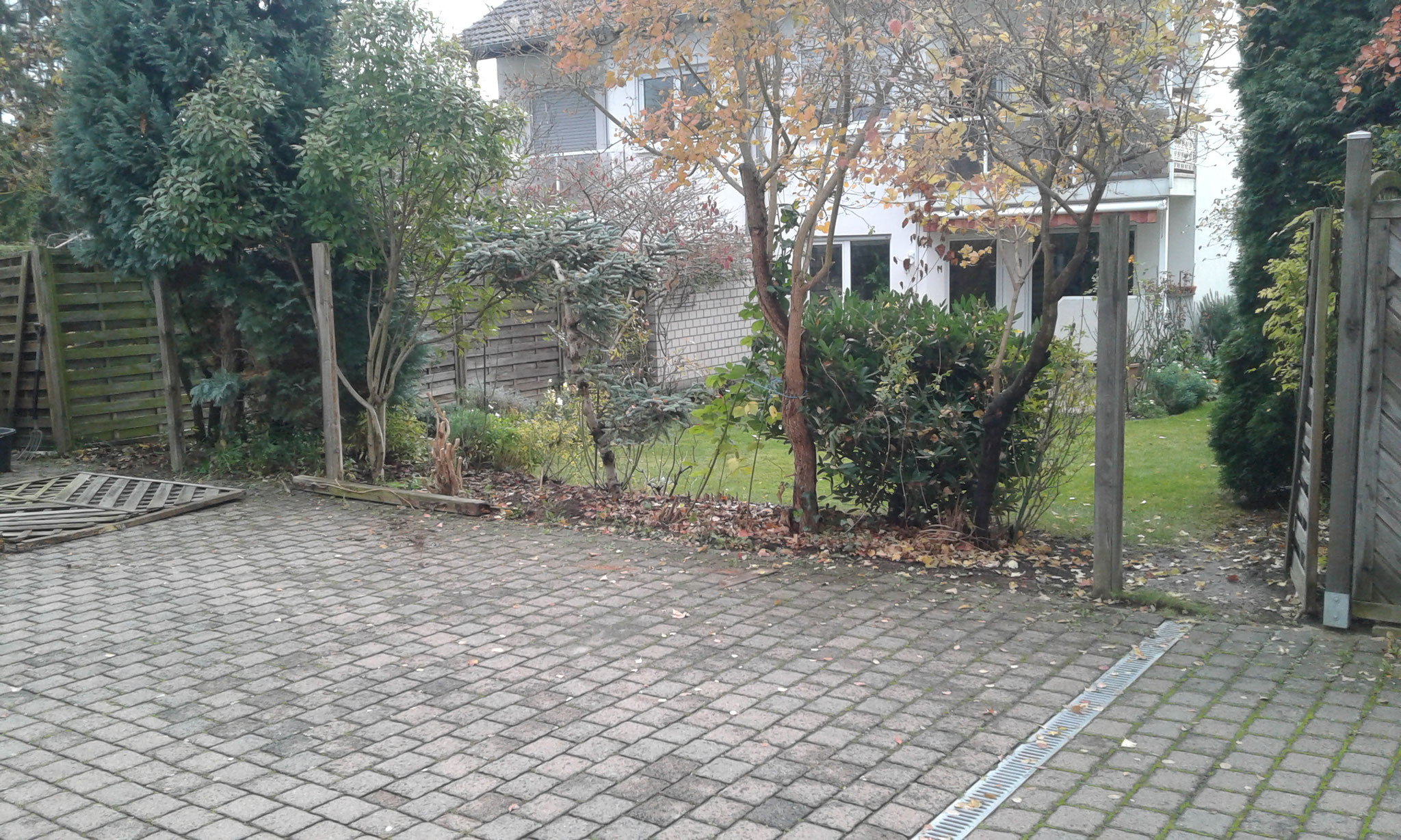 Zaunbauprojekt Mainz - Abbau