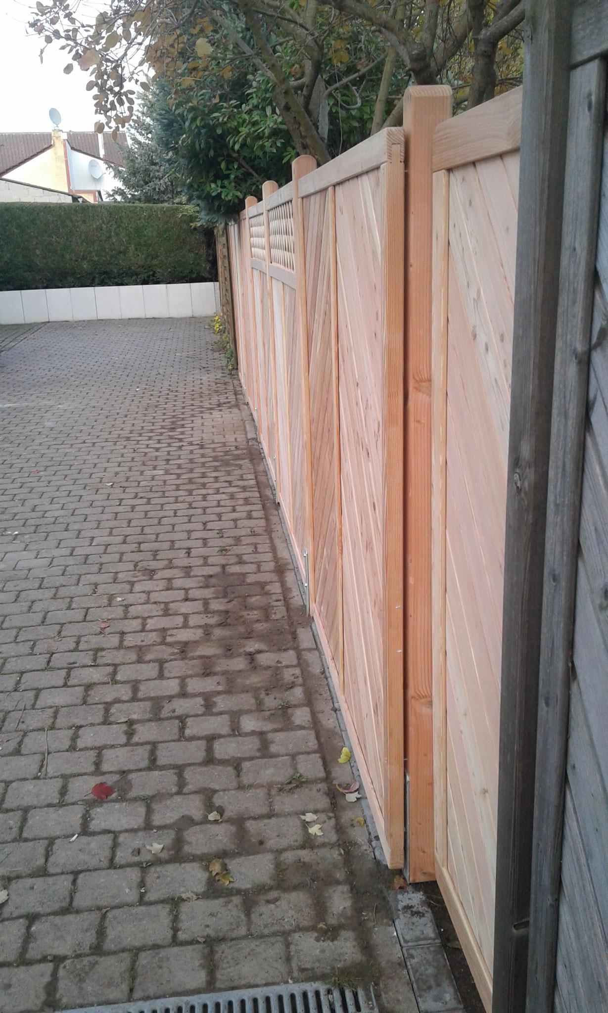 Zaunbauprojekt Mainz - NACHHER