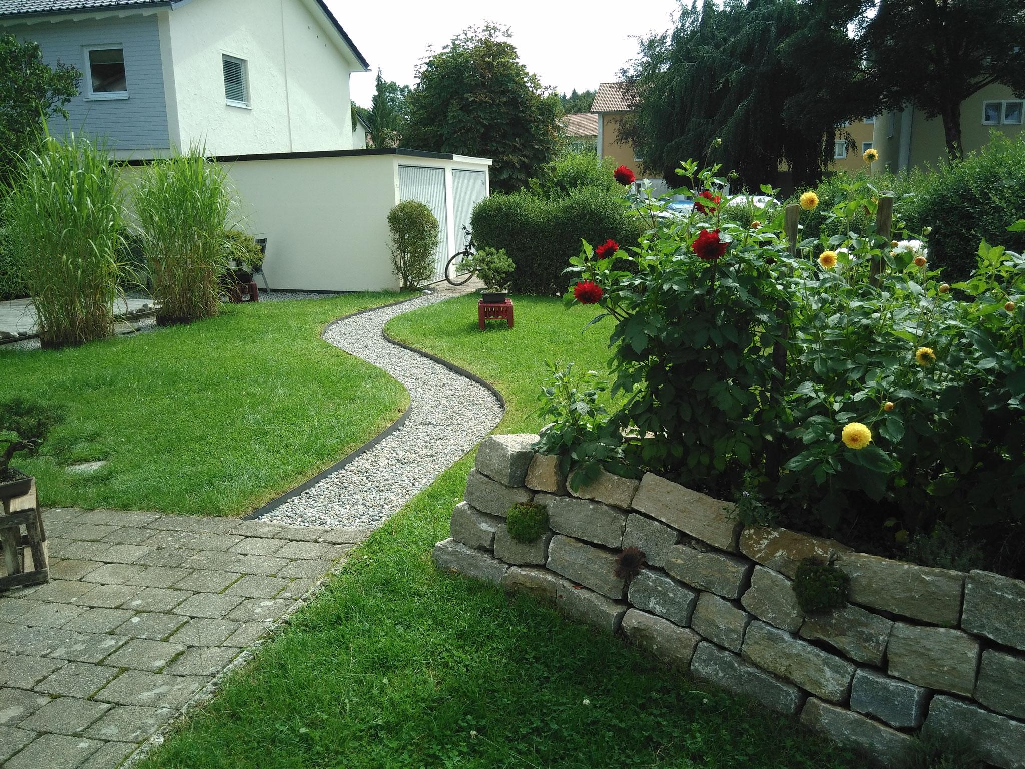 Gartenprojekt Wangen 2016