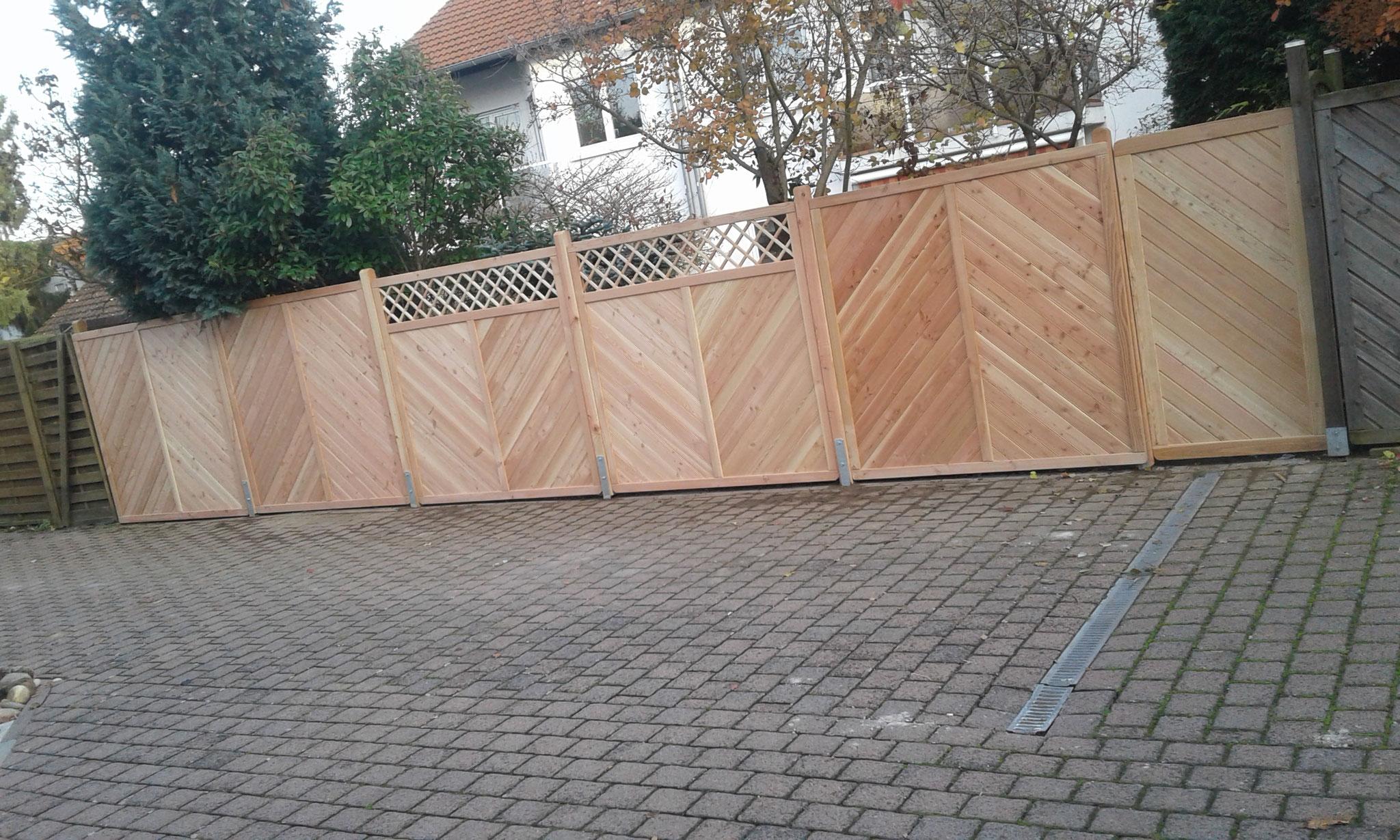 Zaunbauprojekt Mainz 2017 - NACHHER